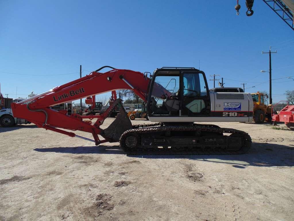 Used, 2014, Link-Belt Excavators (LBX), 210 X3, Excavators