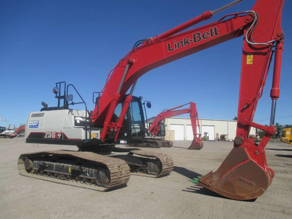 Used, 2015, Link-Belt Excavators (LBX), 250 X4, Excavators