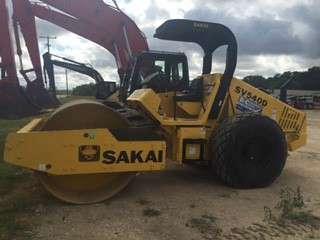 Used, 2013, Sakai, SV505D-1, Compactors