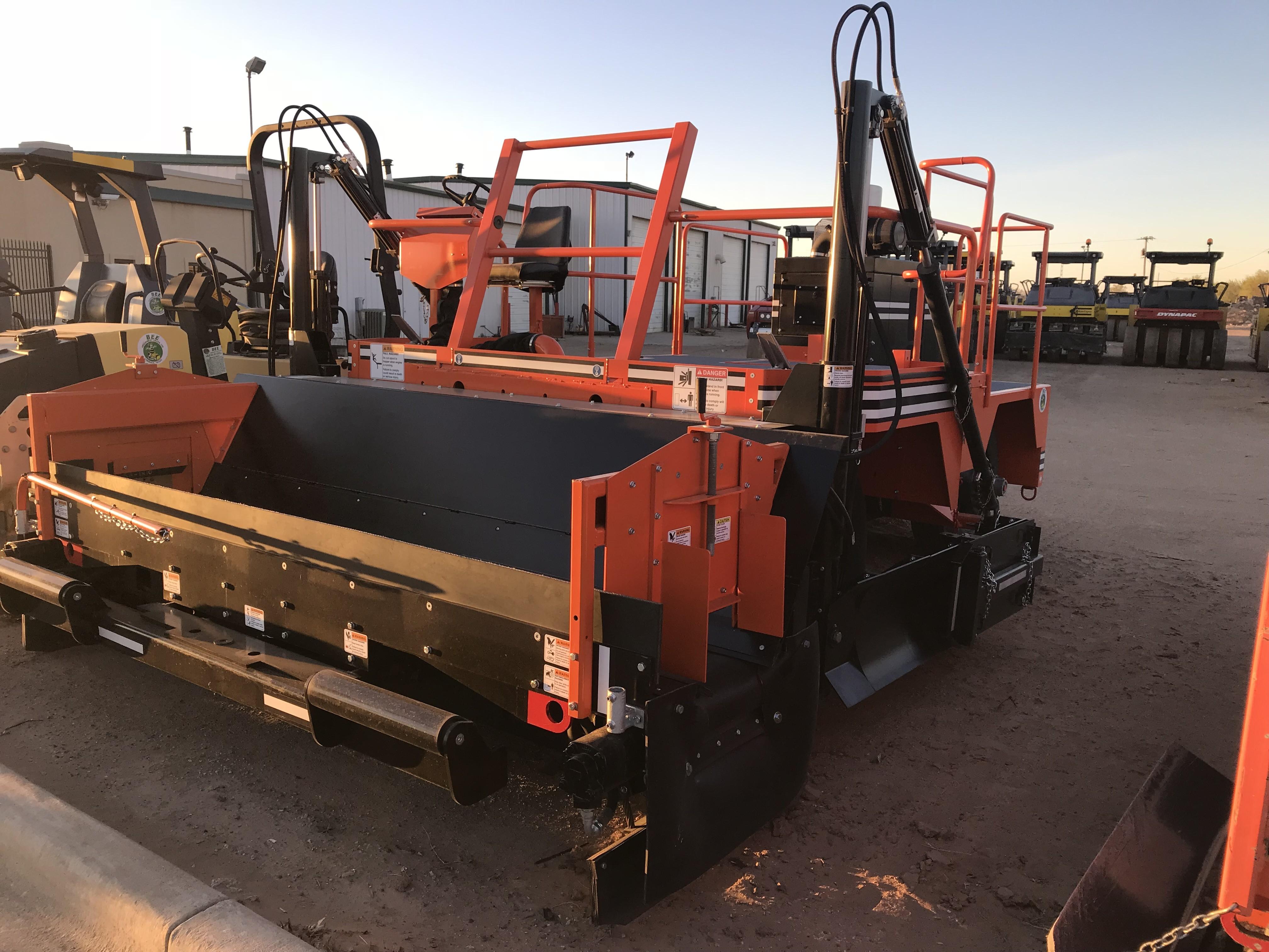 New, Midland Machinery, SPD-8, Pavers
