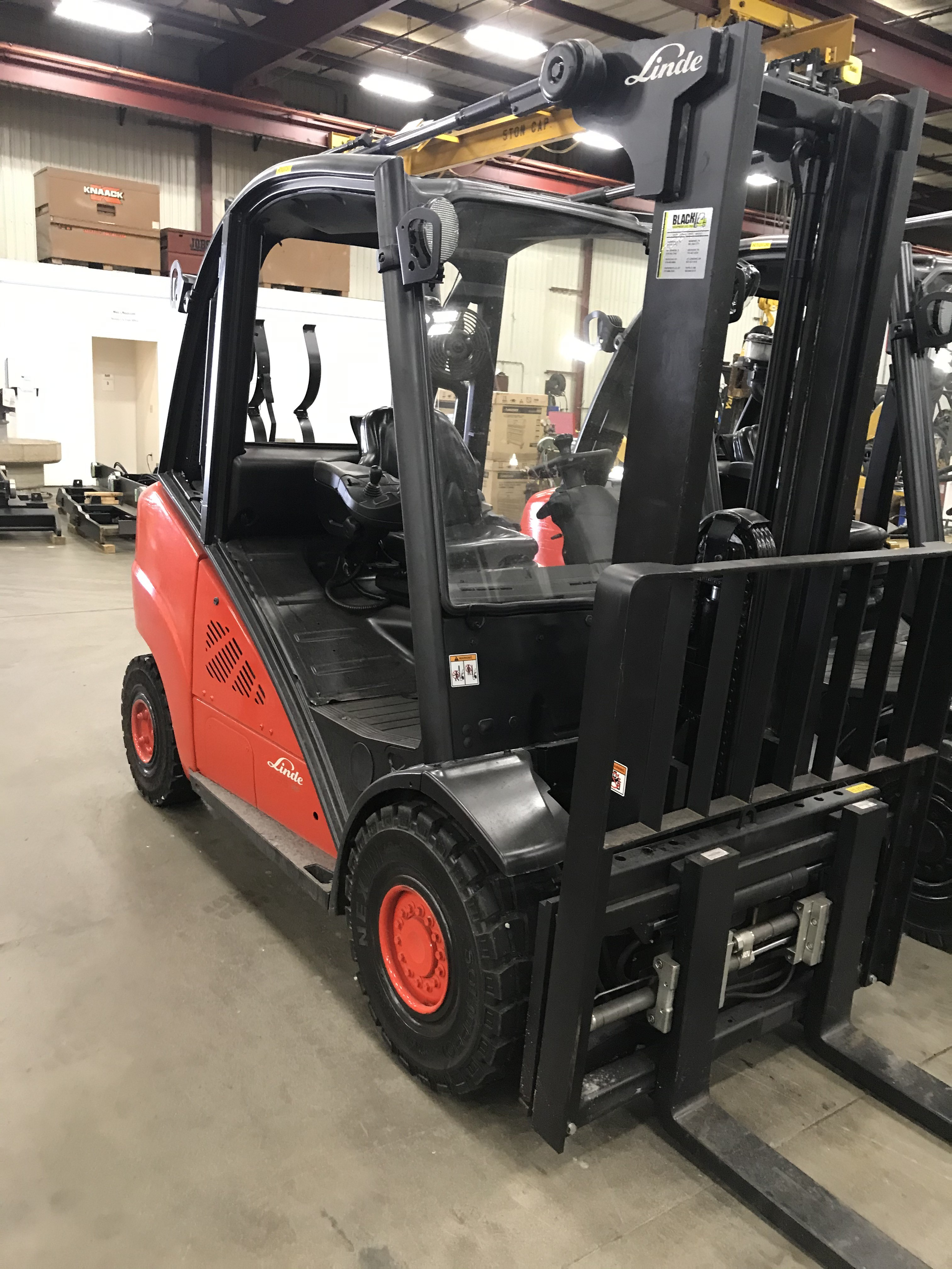 Used, 2013, Linde, H35T, Forklifts / Lift Trucks