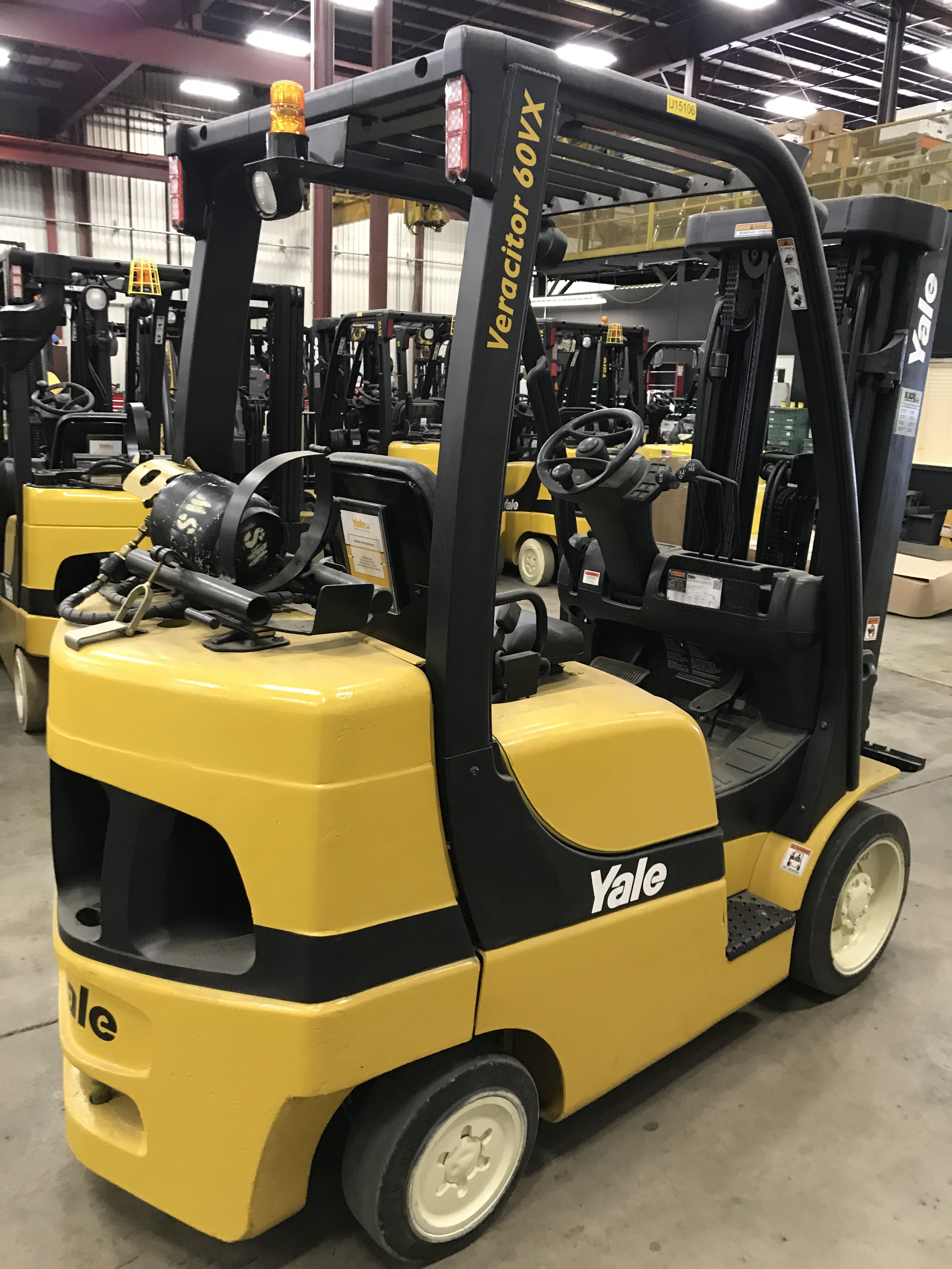Used, 2014, Yale, GLC060VX, Forklifts