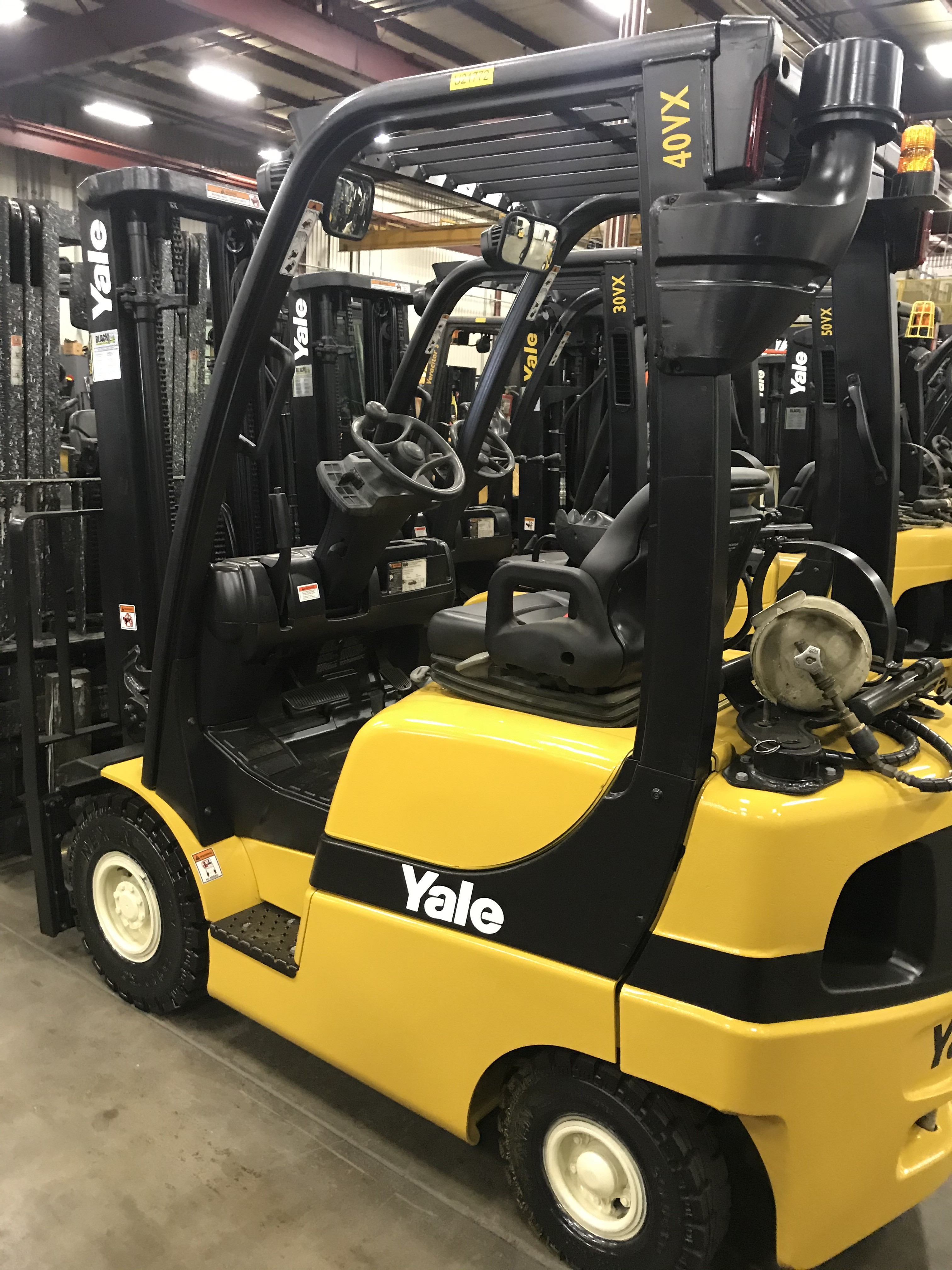 Used, 2015, Yale, GLP040SVX, Forklifts
