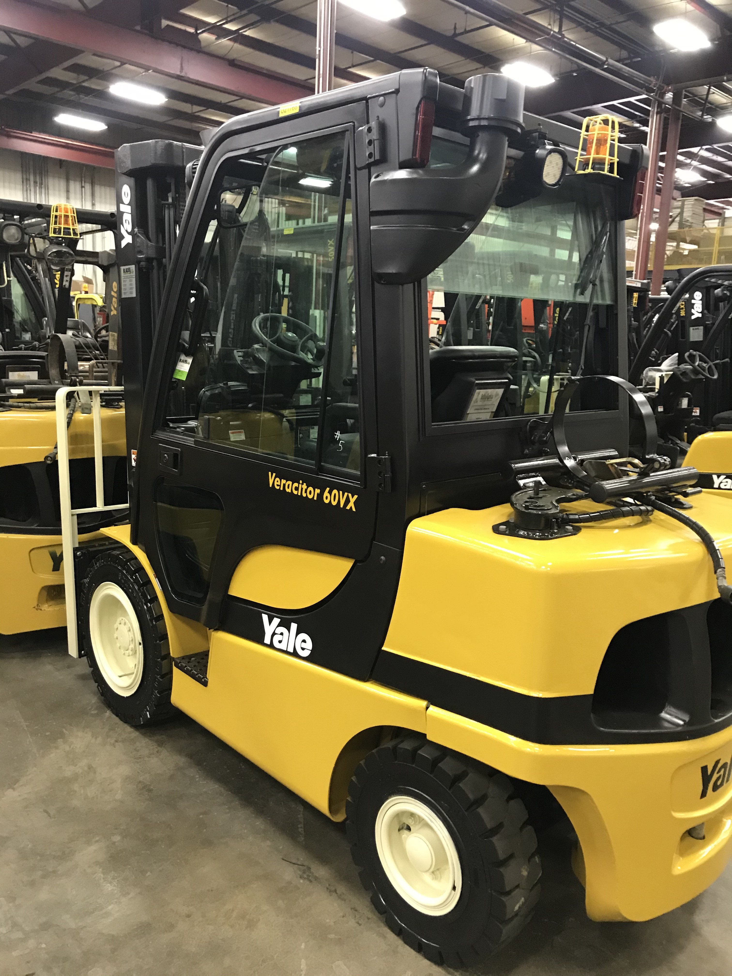 Used, 2015, Yale, GLP060VX, Forklifts