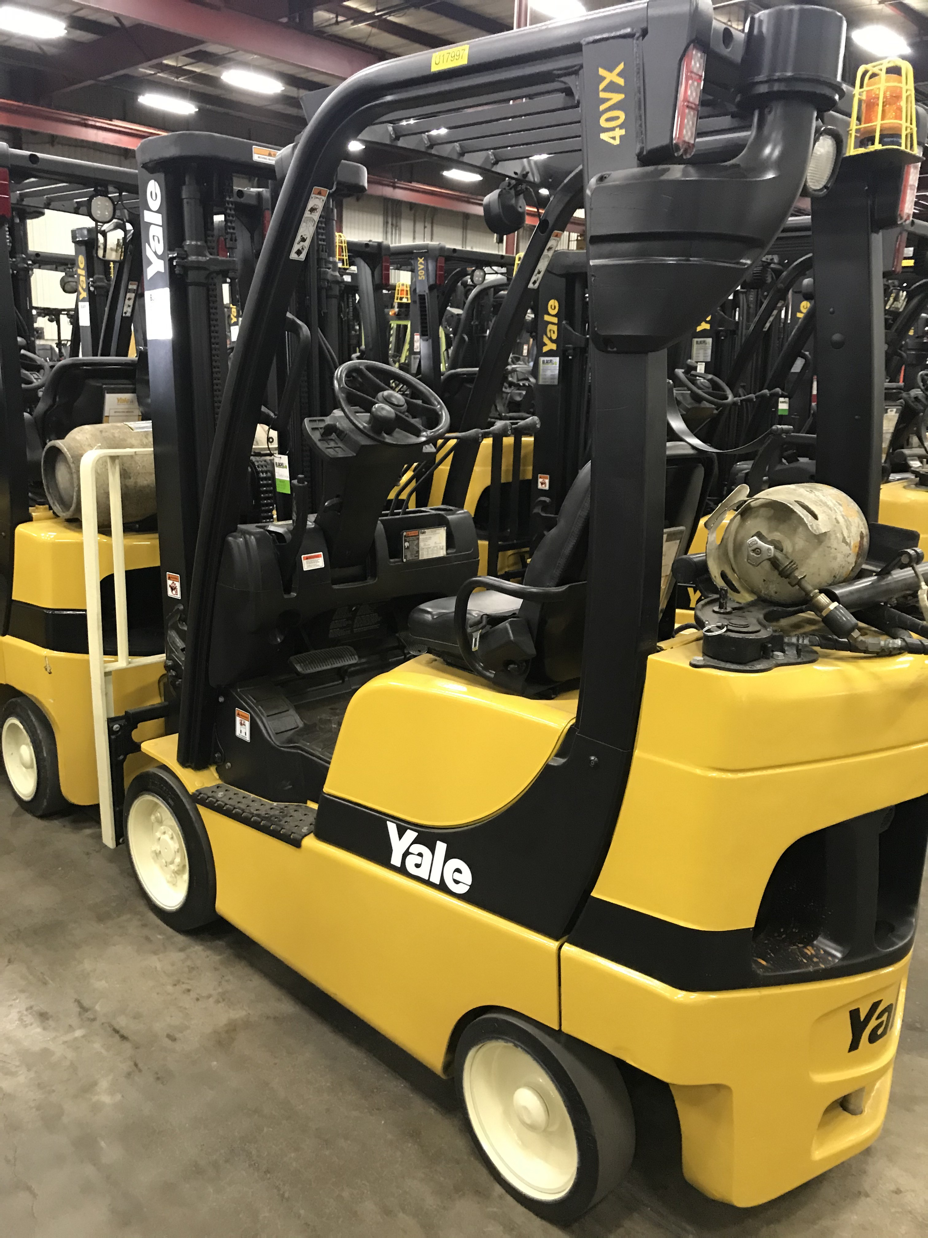Used, 2015, Yale, GLC040SVX, Forklifts