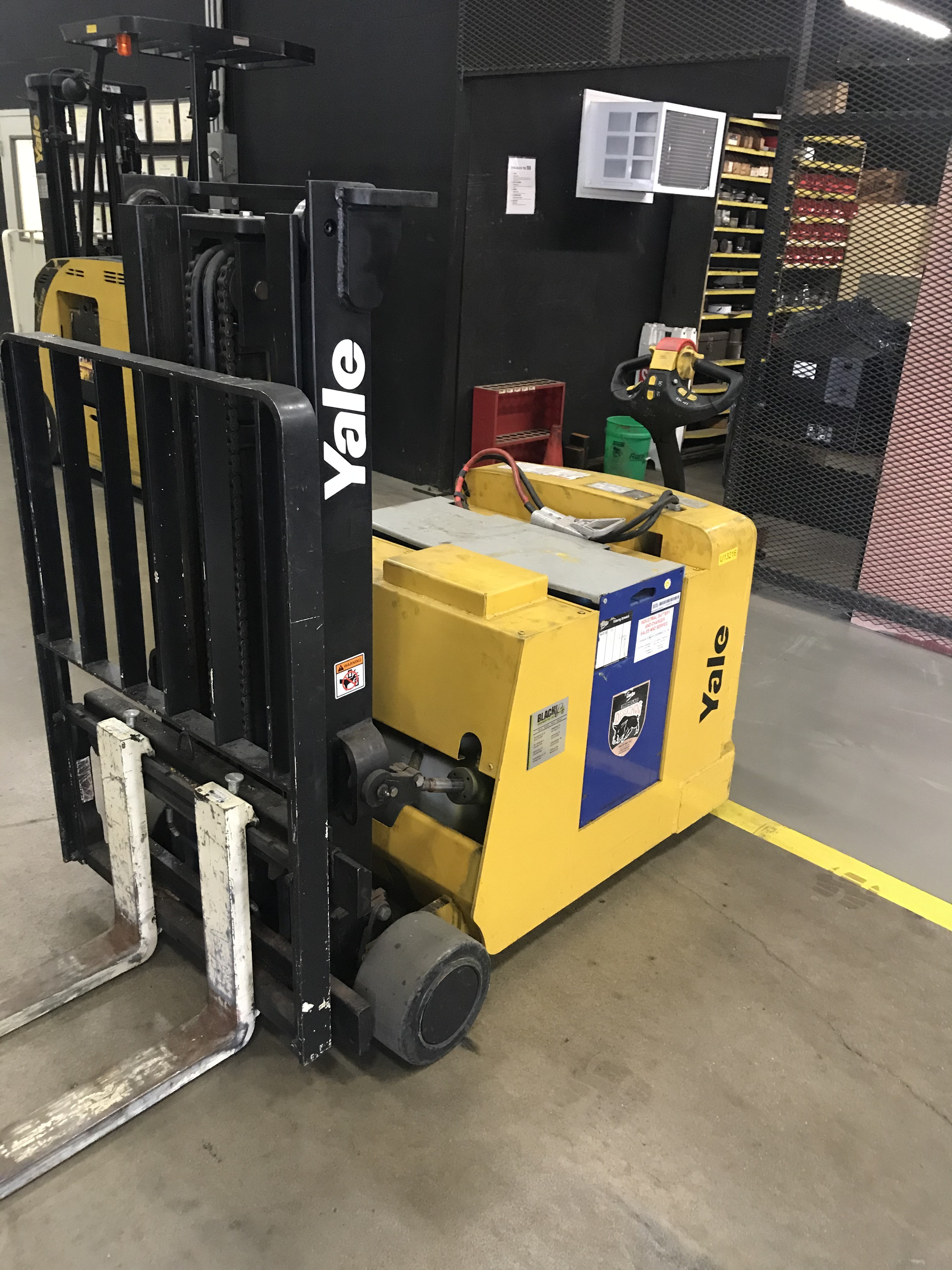 Used, 2008, Yale, MCW025LE, Forklifts / Lift Trucks
