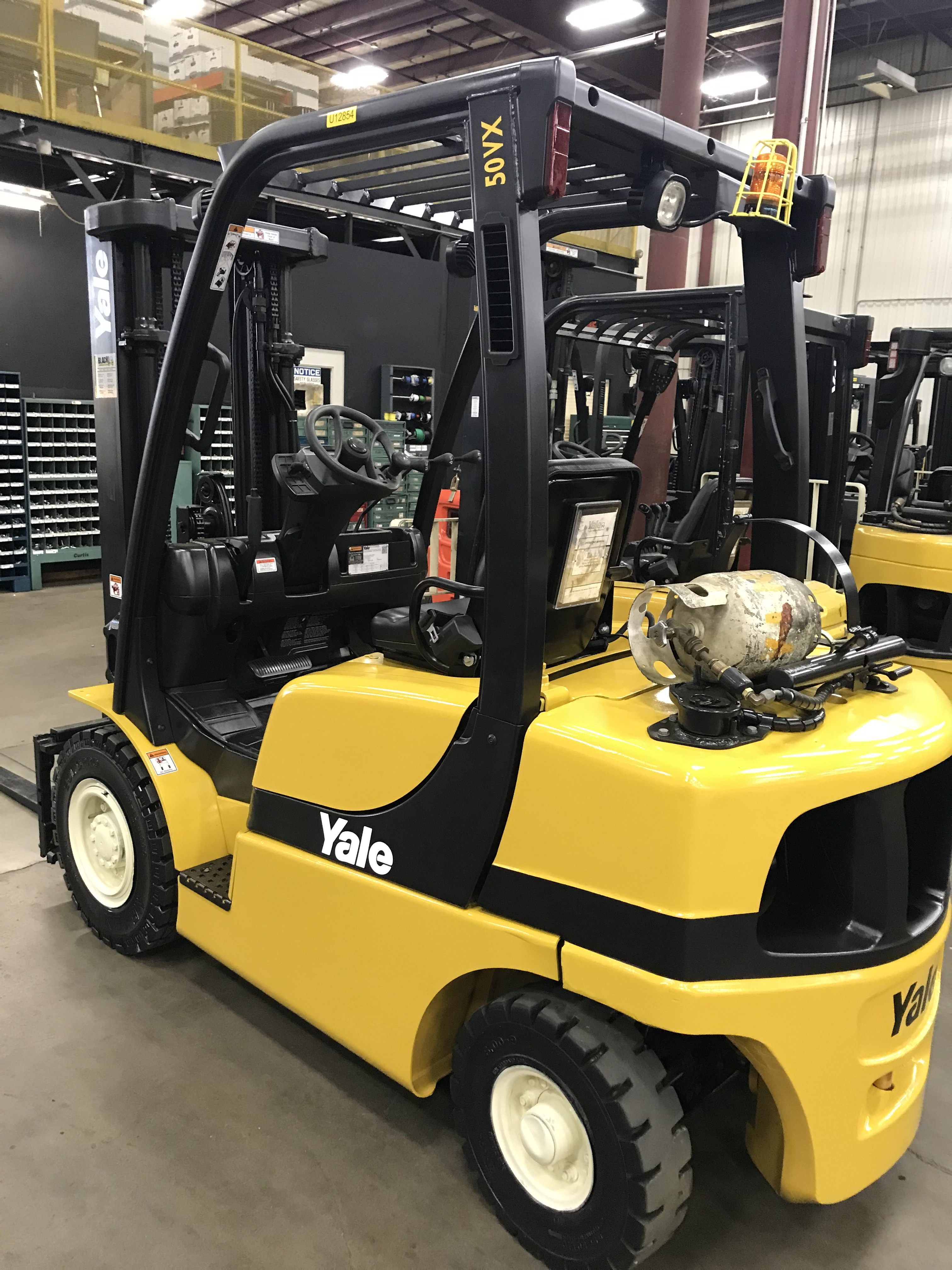 Used, 2012, Yale, GLP050VX, Forklifts