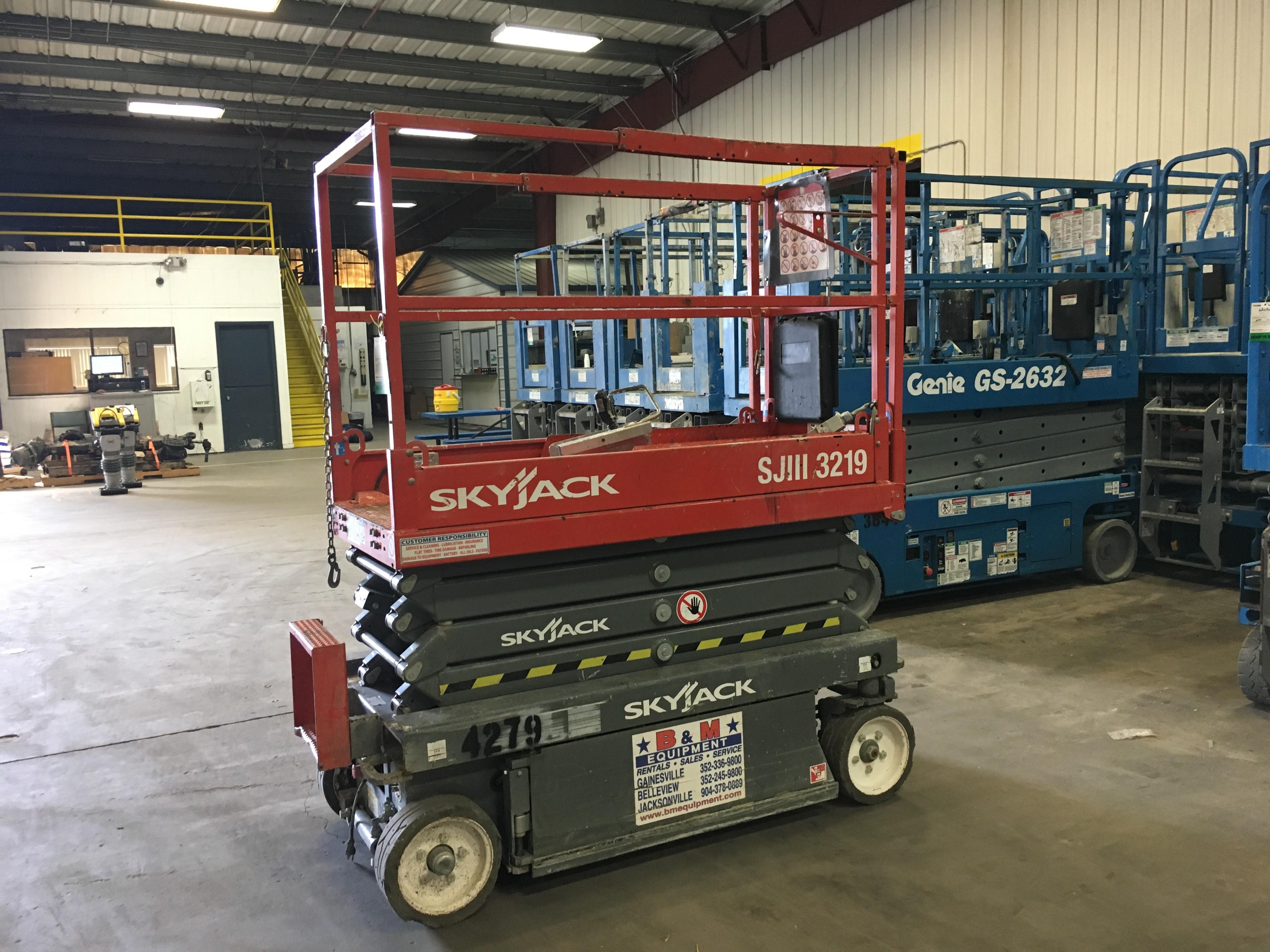 Used, 2015, Skyjack, SJIII 3219, Aerial Work Platforms