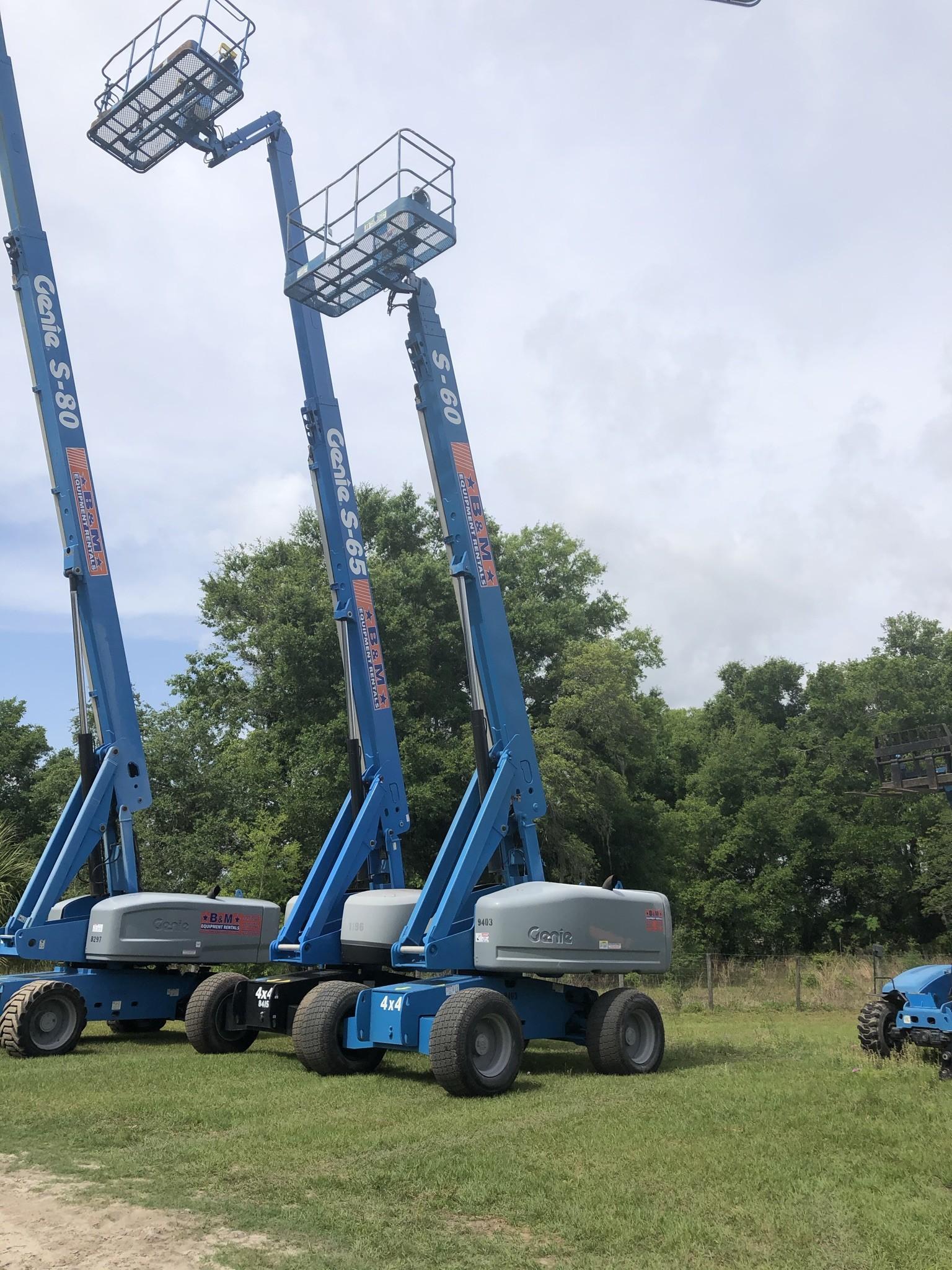 Used, 2008, Genie, S™ - 60, Aerial Work Platforms