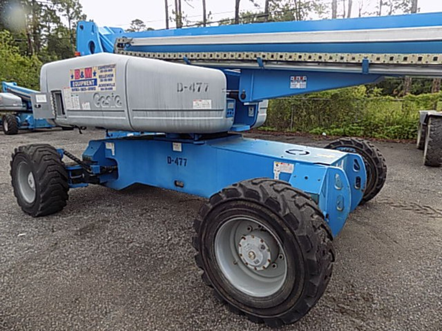 Used, 2013, Genie, S-105, Booms