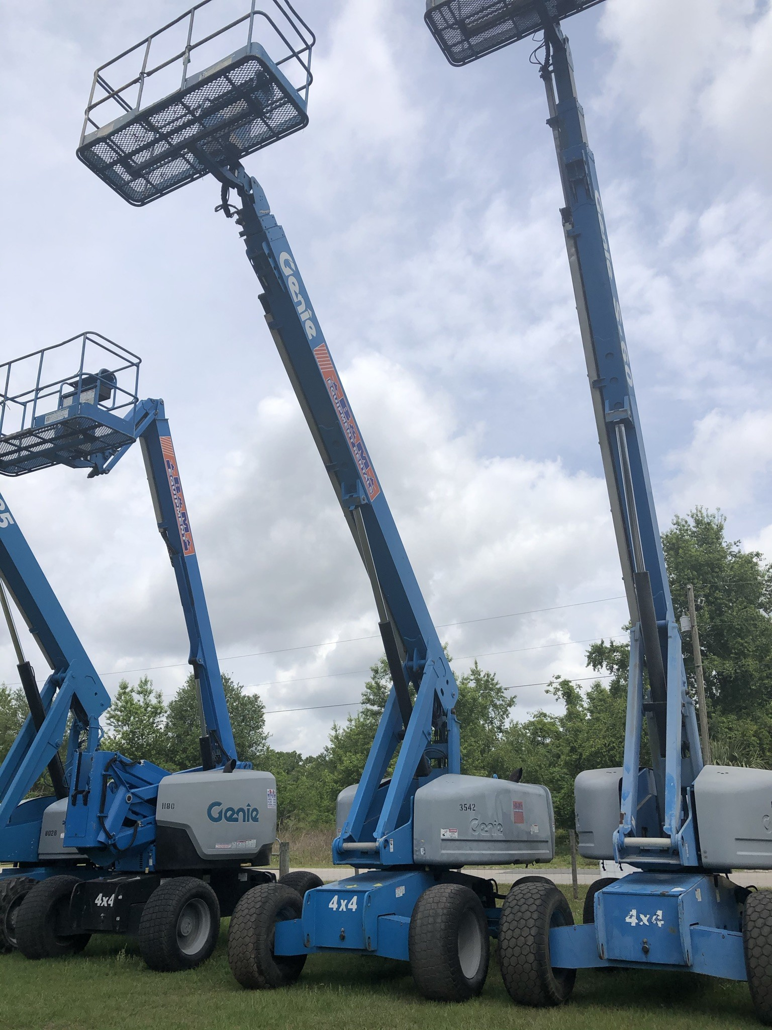 Used, 2006, Genie, S-60, Booms