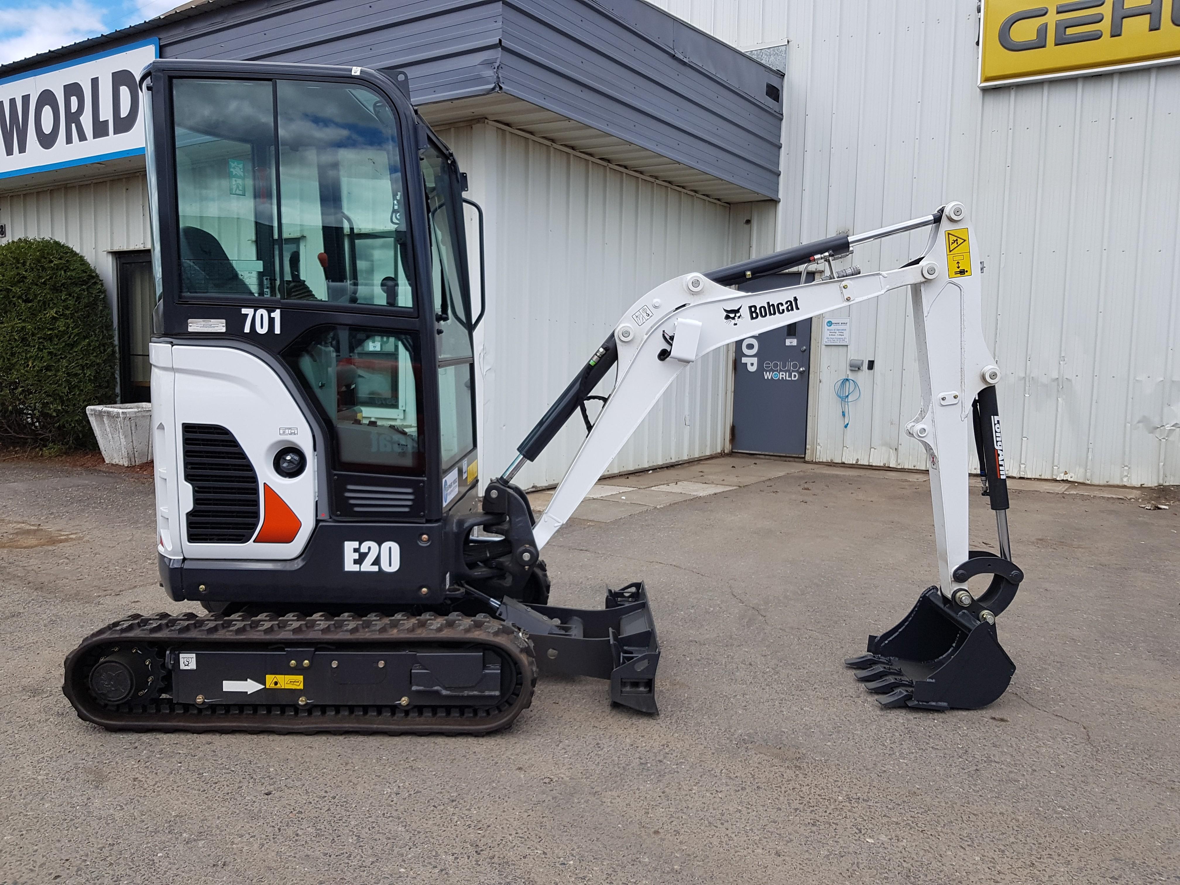 New, 2018, Bobcat, E20, Excavators