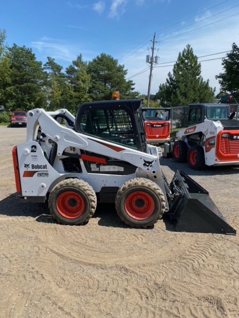 Used, 2020, Bobcat, S570, Loaders