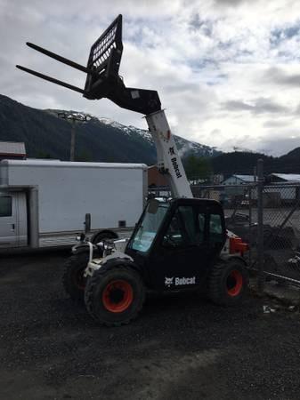 Used, 2015, Bobcat, V417, Telehandlers