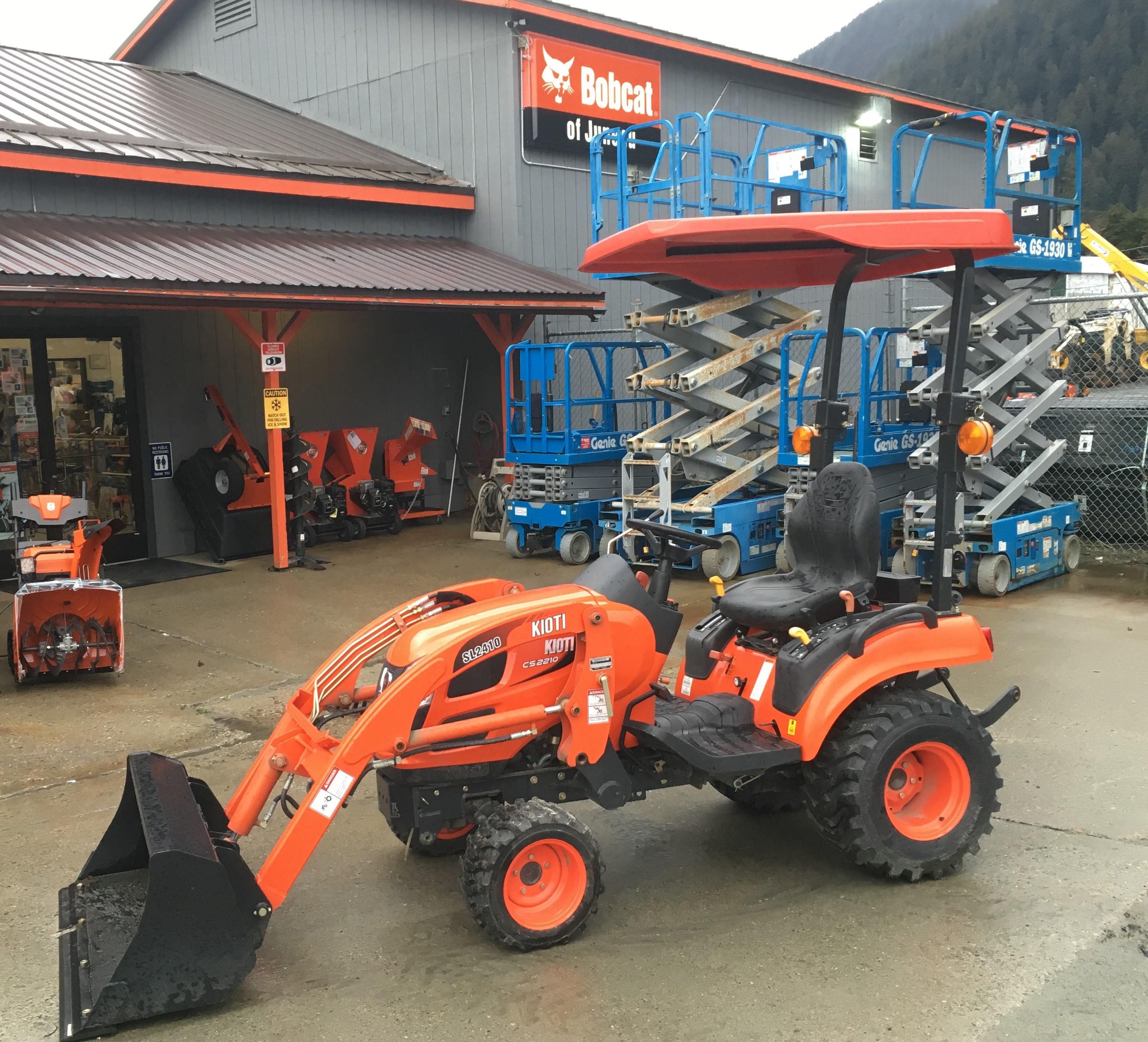 New, 2018, Kioti, CS2210, Tractors