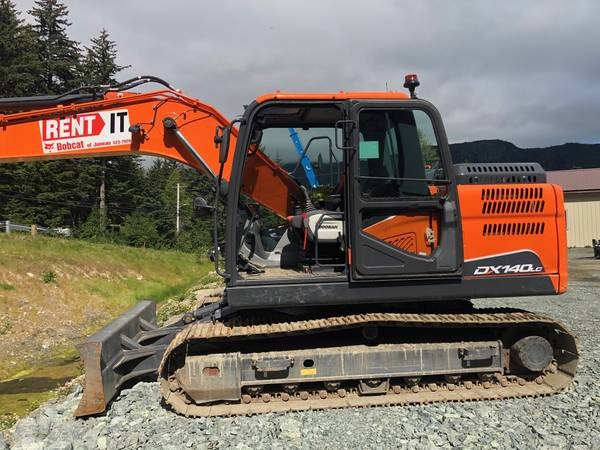 Used, 2019, Doosan Construction, DX140LC-5 (T4), Loaders