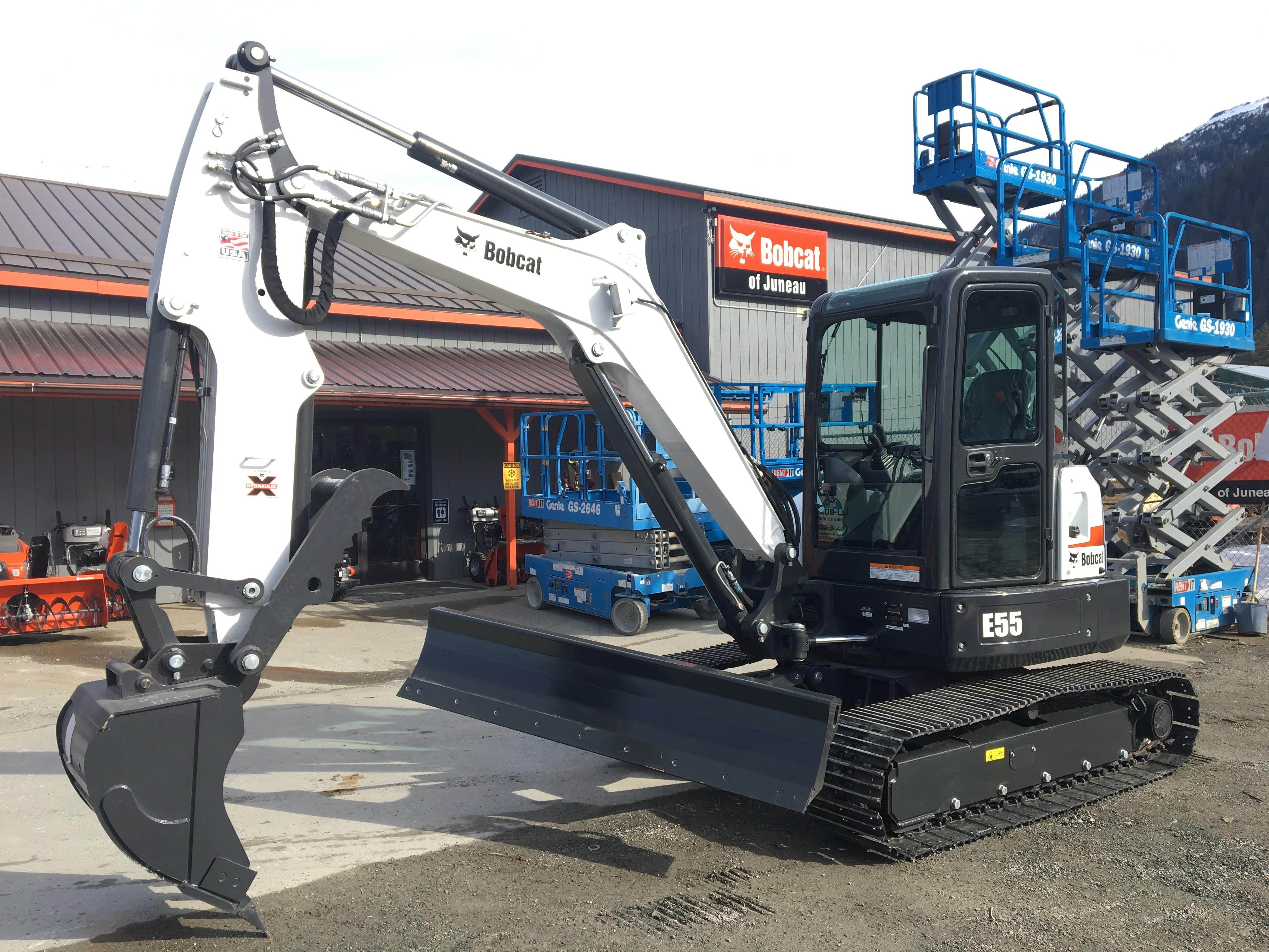 New, 2018, Bobcat, E55 (Extendable Arm), Excavators