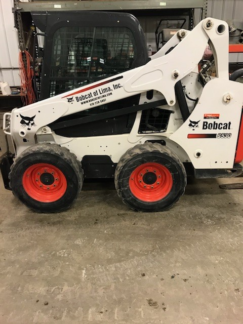 Used, 2017, Bobcat, S530, Skid Steers