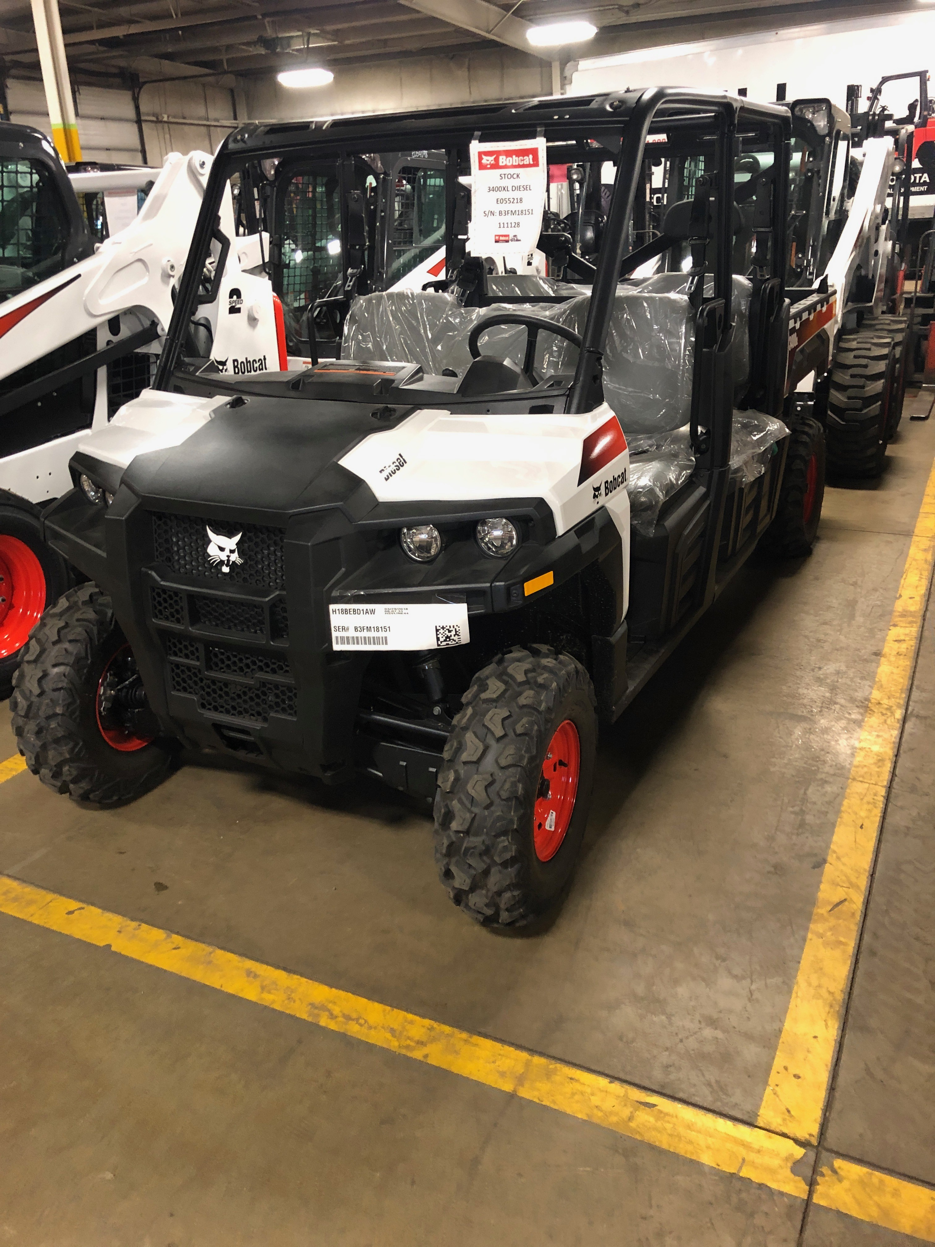 New, Bobcat, 3400 XL Diesel 4 x 4, Utility Vehicles