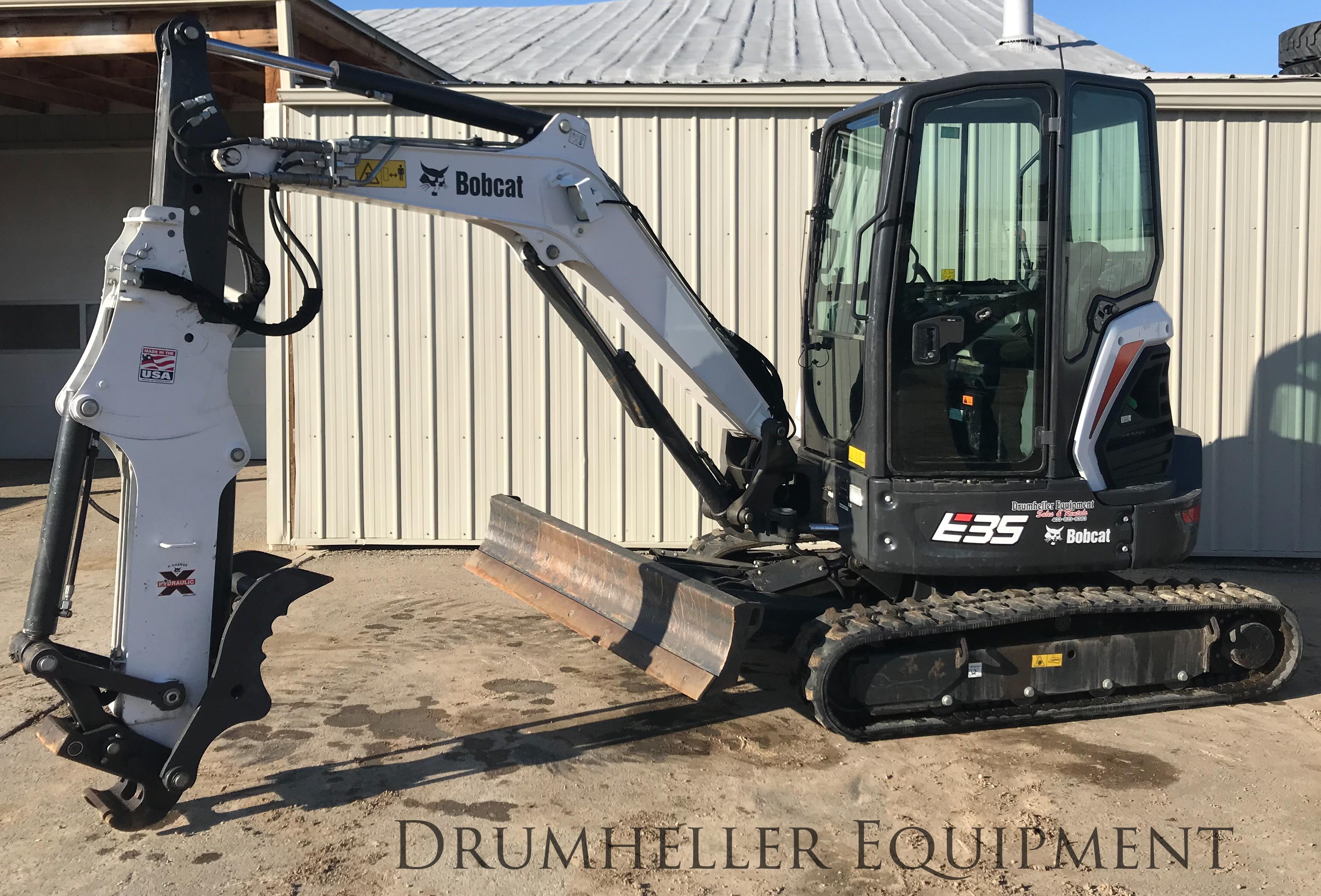 Used, 2017, Bobcat, E35 T4, Excavators