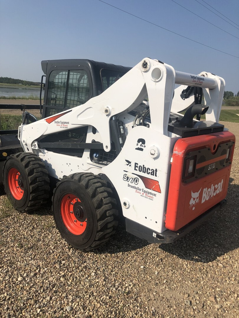 Used, 2019, Bobcat, S770, Loaders
