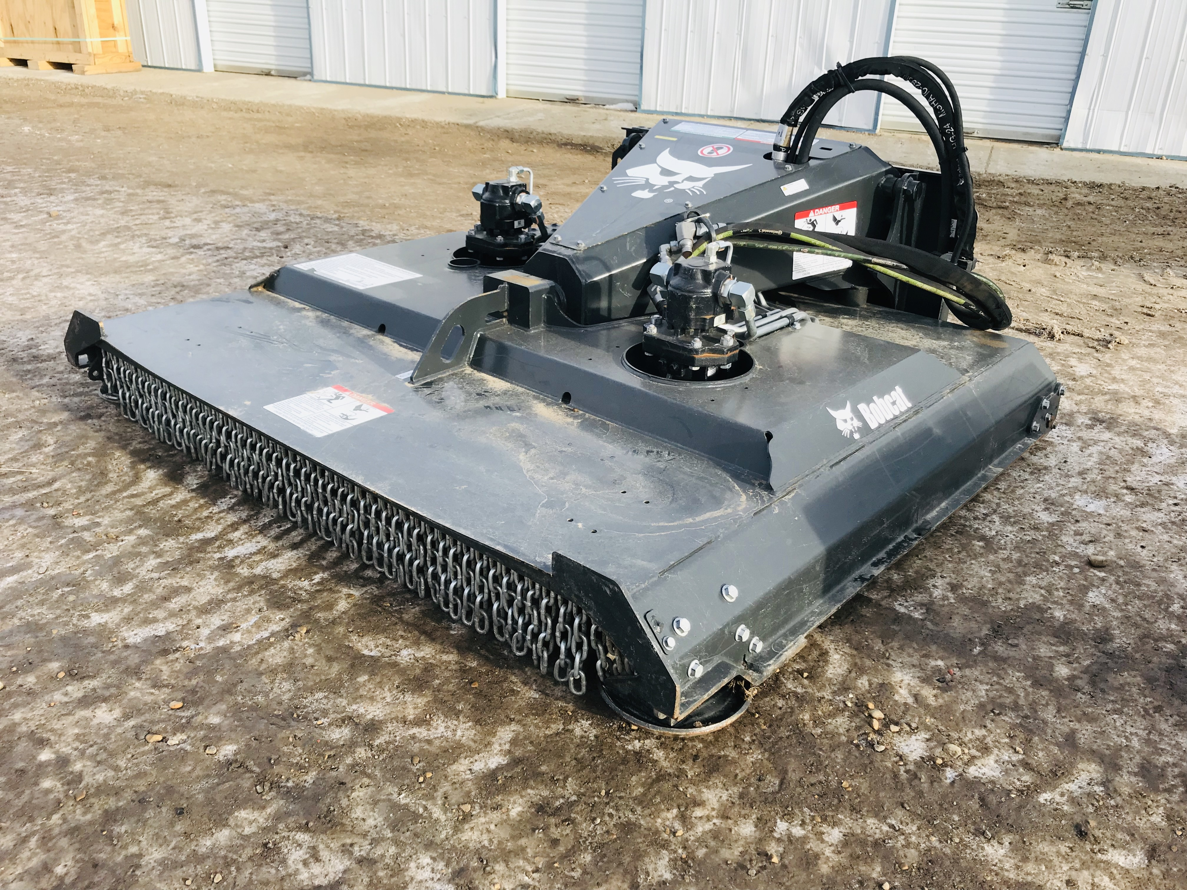 Used, 2017, Bobcat, 72 in. Brushcat Standard Flow, Cutter Implements