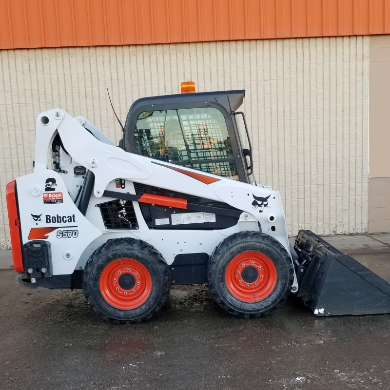 Used, 2018, Bobcat, S570, Loaders
