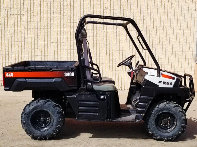 Used, 2010, Bobcat®, 3400 4x4, Utility Vehicles