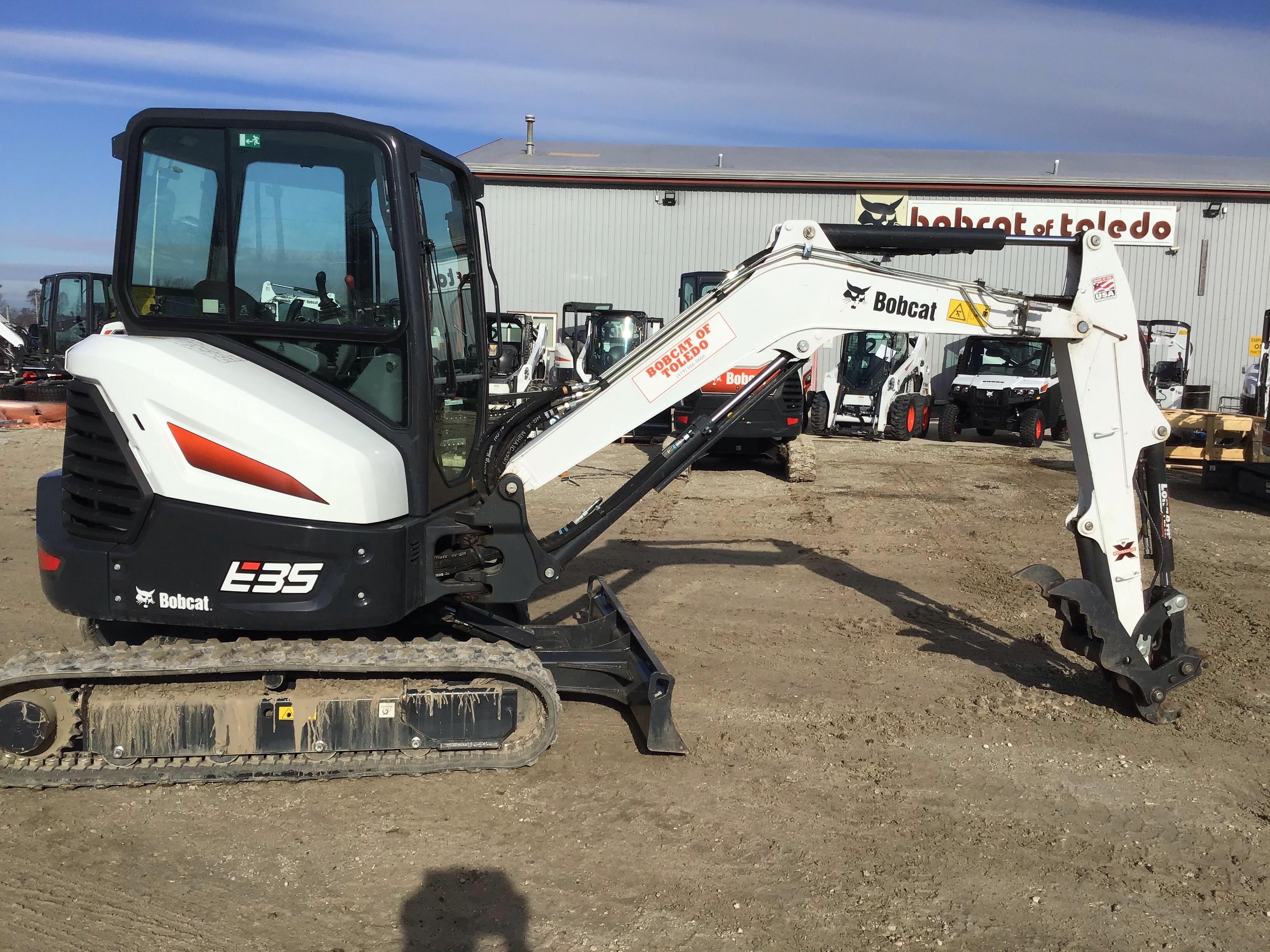Used, 2020, Bobcat, E35i T4 Long Arm, Excavators