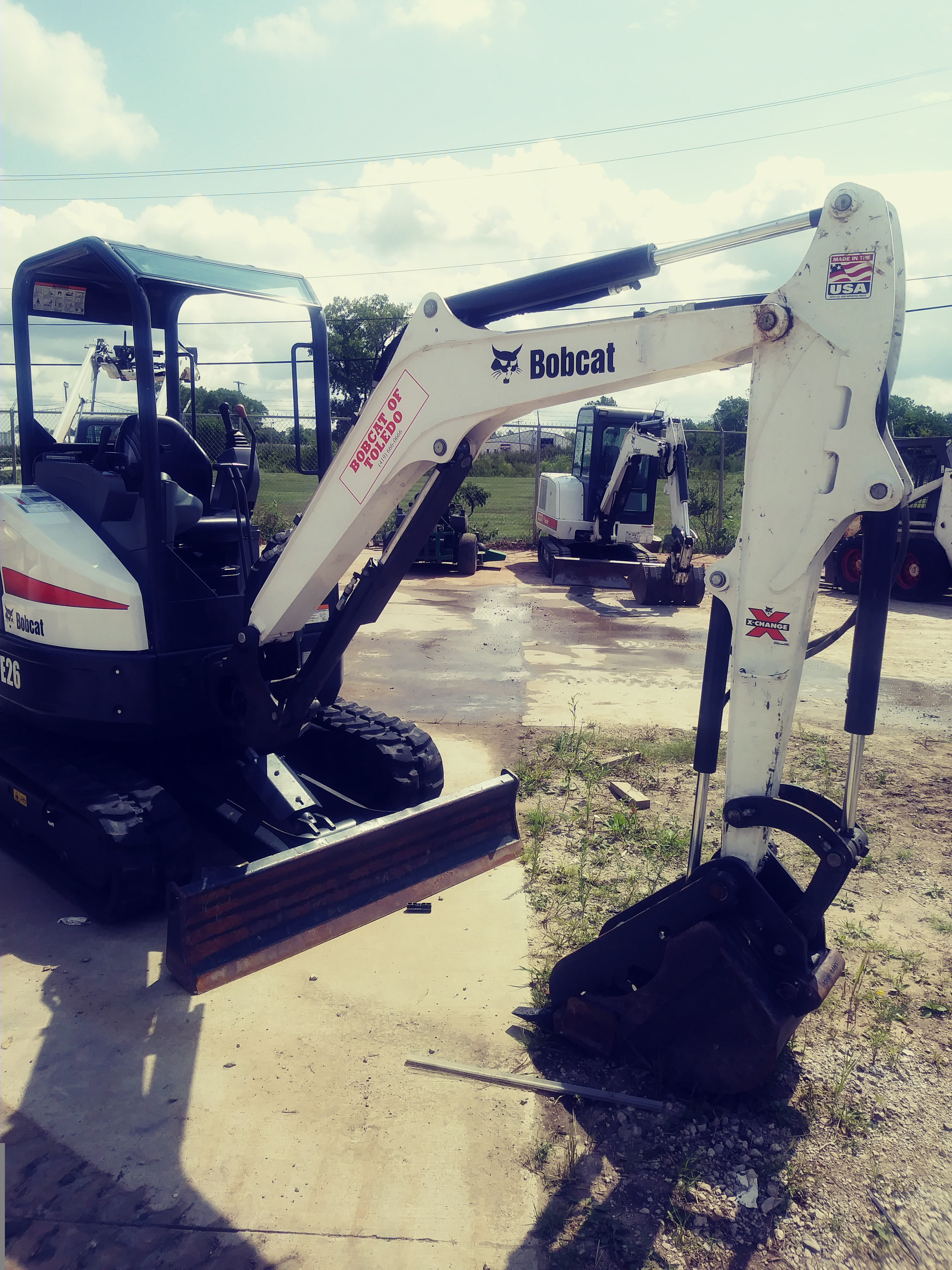 Used, 2018, Bobcat, E26 T4 Long Arm, Excavators