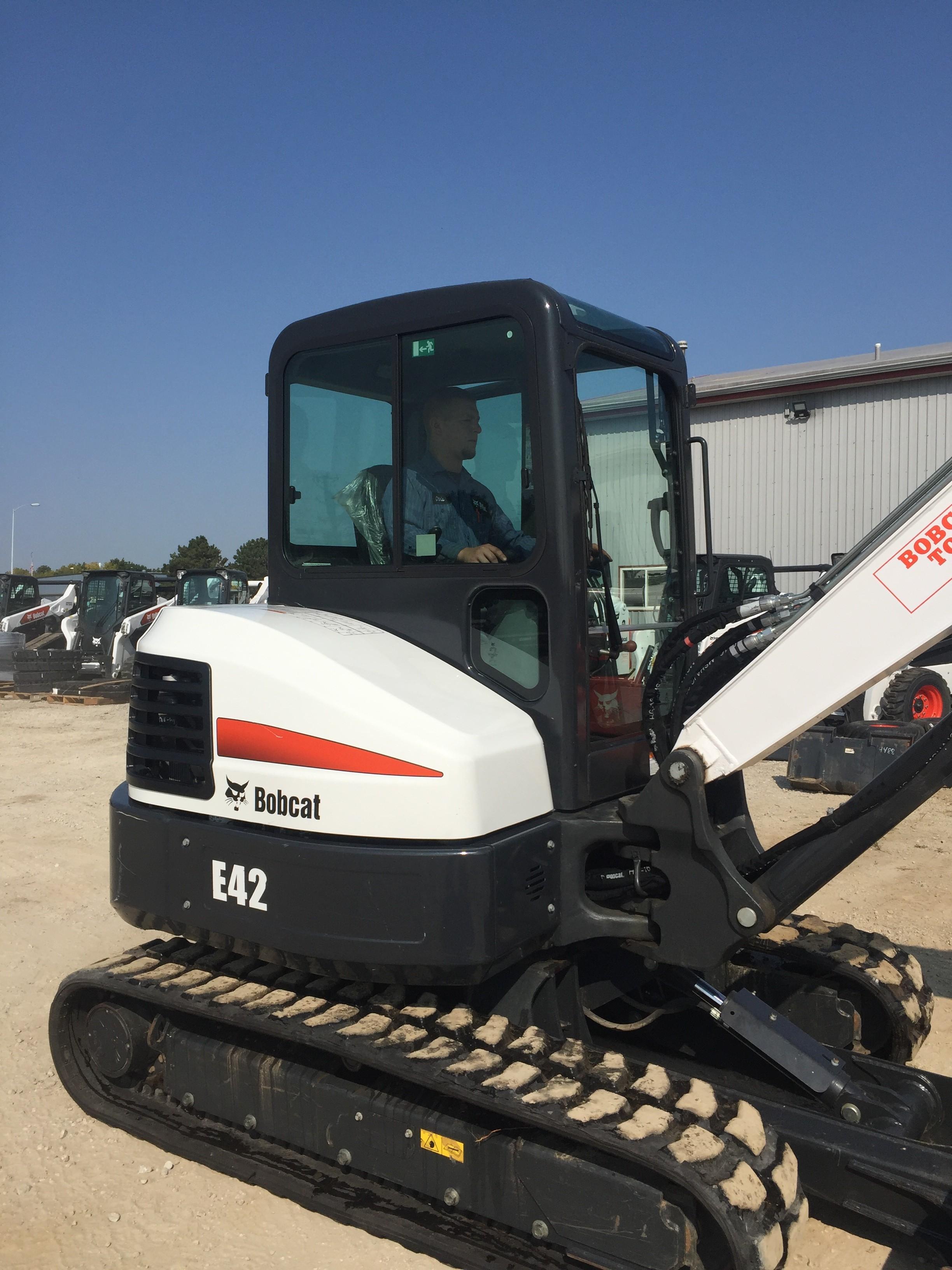 Used, 2019, Bobcat, E42 Long Arm, Excavators
