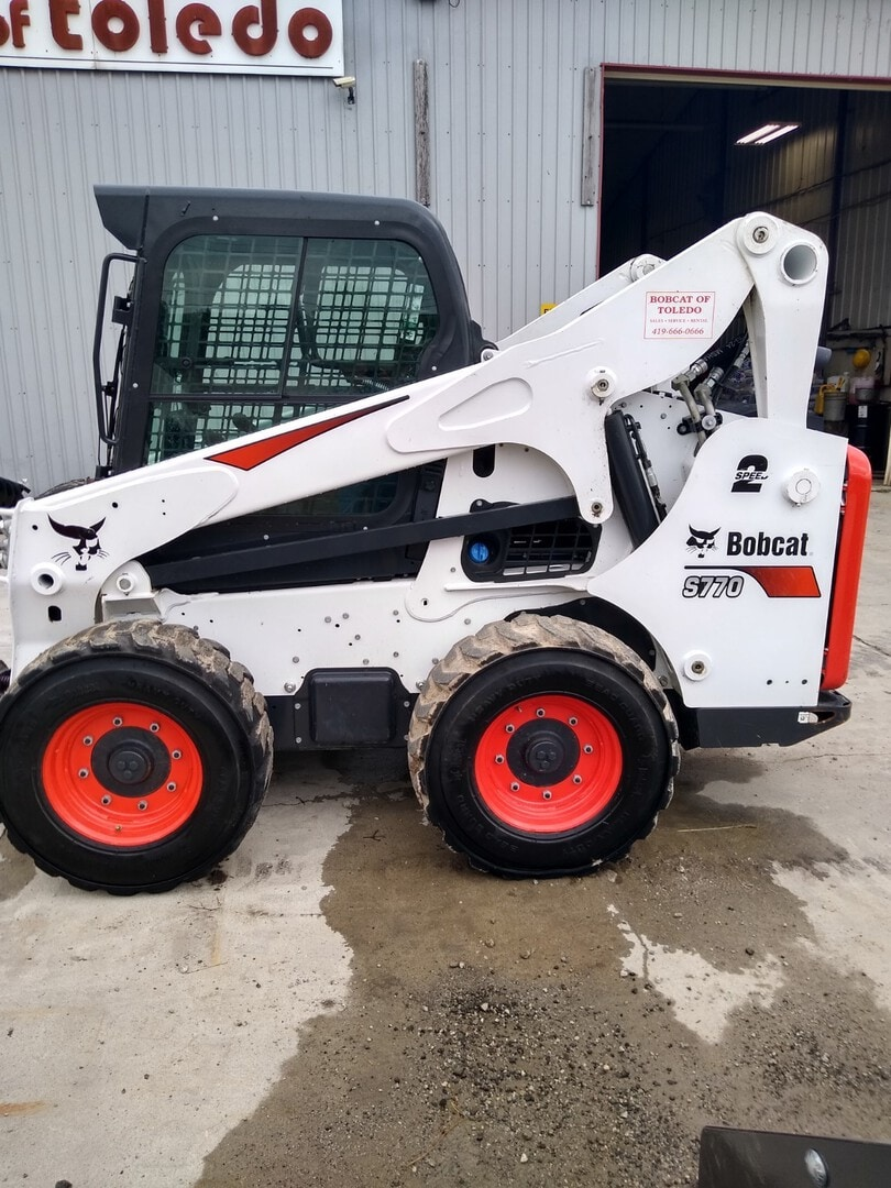Used, 2020, Bobcat, S770, Loaders