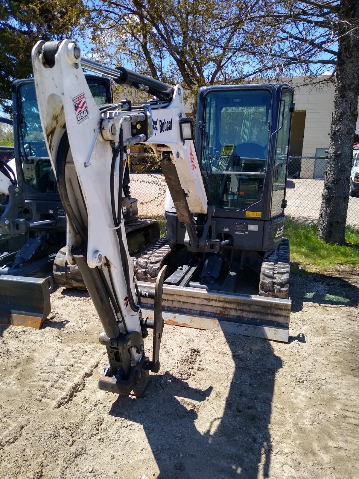 Used, 2020, Bobcat, E35R 33HP (LA), Excavators