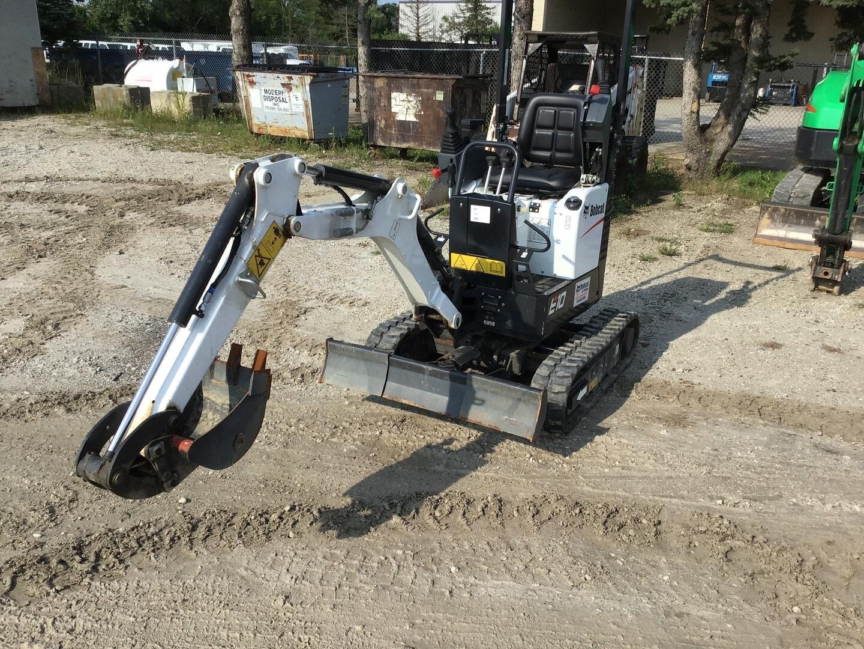 Used, 2020, Bobcat, E10, Excavators