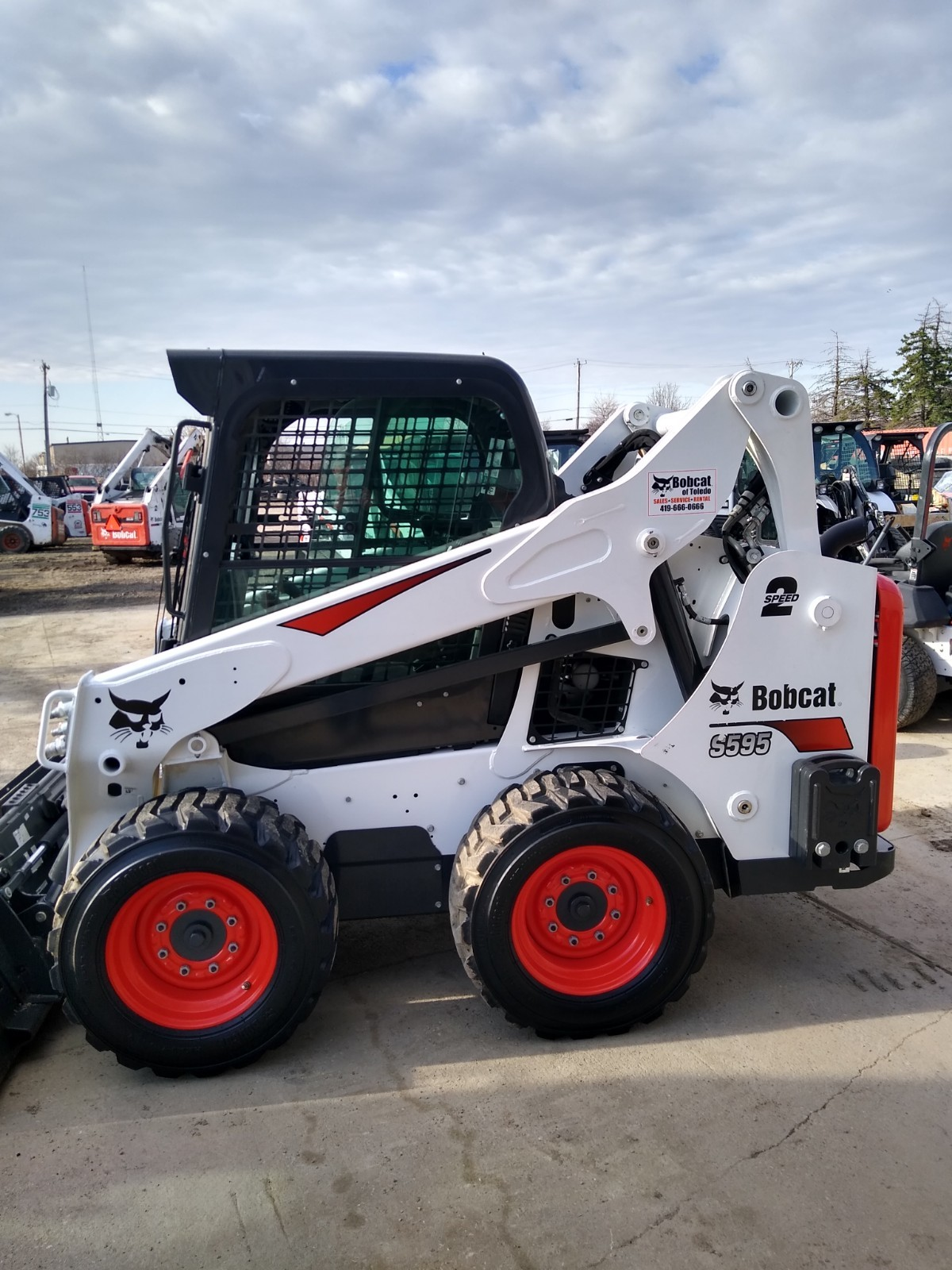 Used, 2018, Bobcat, S595, Loaders