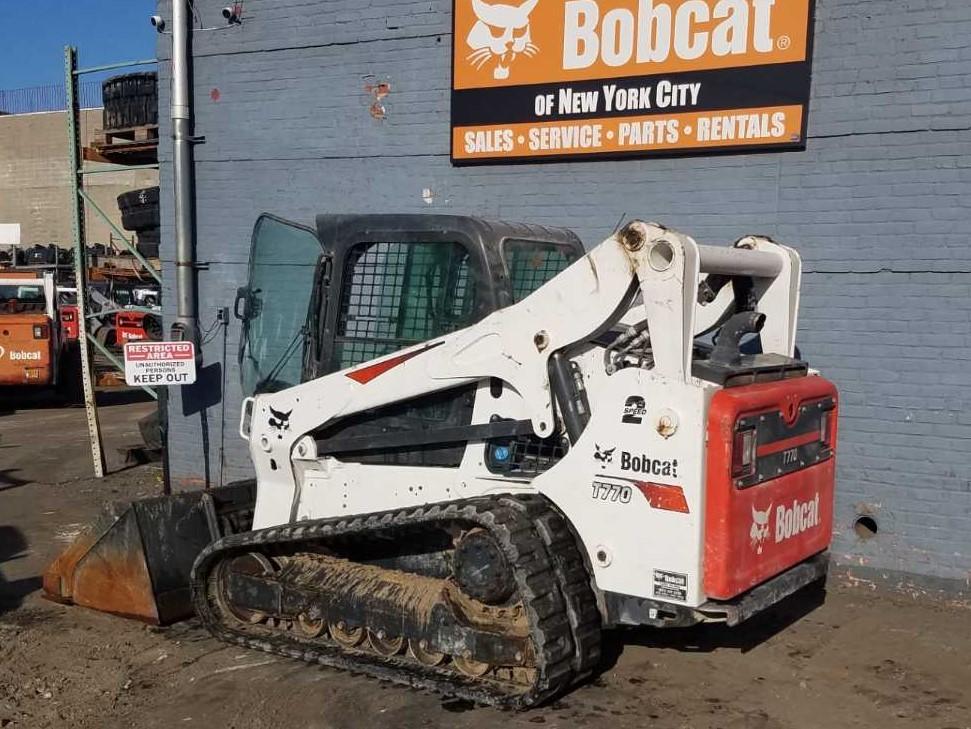 Used, 2017, Bobcat, T770 Standard, Loaders
