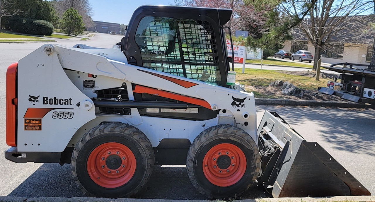 Used, 2018, Bobcat, S550, Loaders
