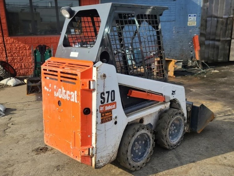 Used, 2019, Bobcat, S70, Loaders