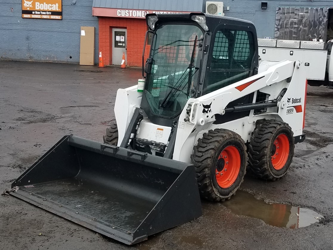 Used, 2019, Bobcat, S550, Loaders