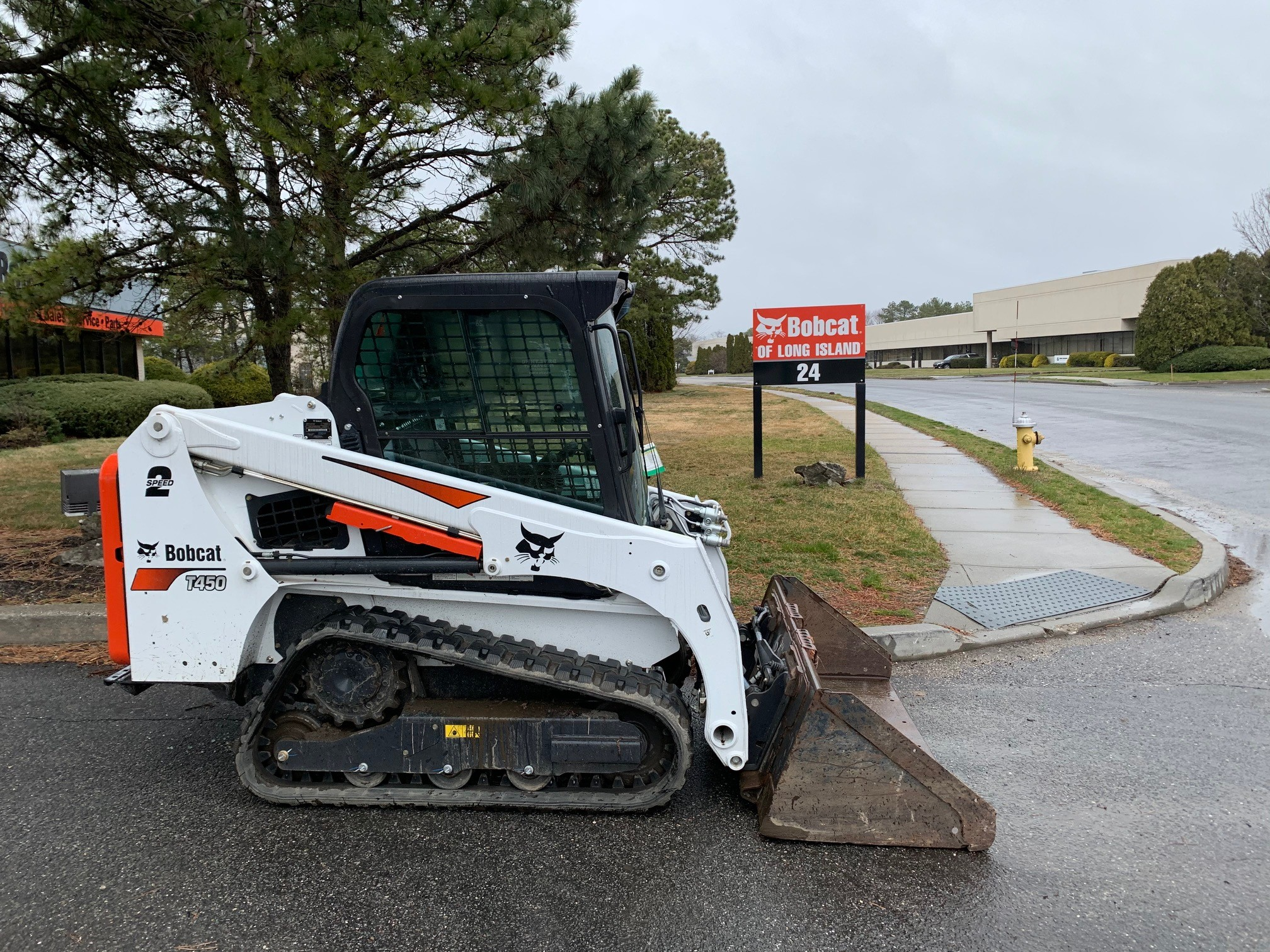 Used, 2018, Bobcat, T450, Loaders