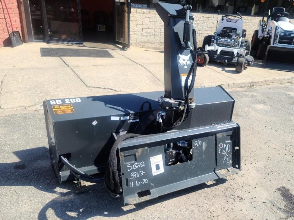 Used, 2020, Bobcat, SB200 Snowblower - 72