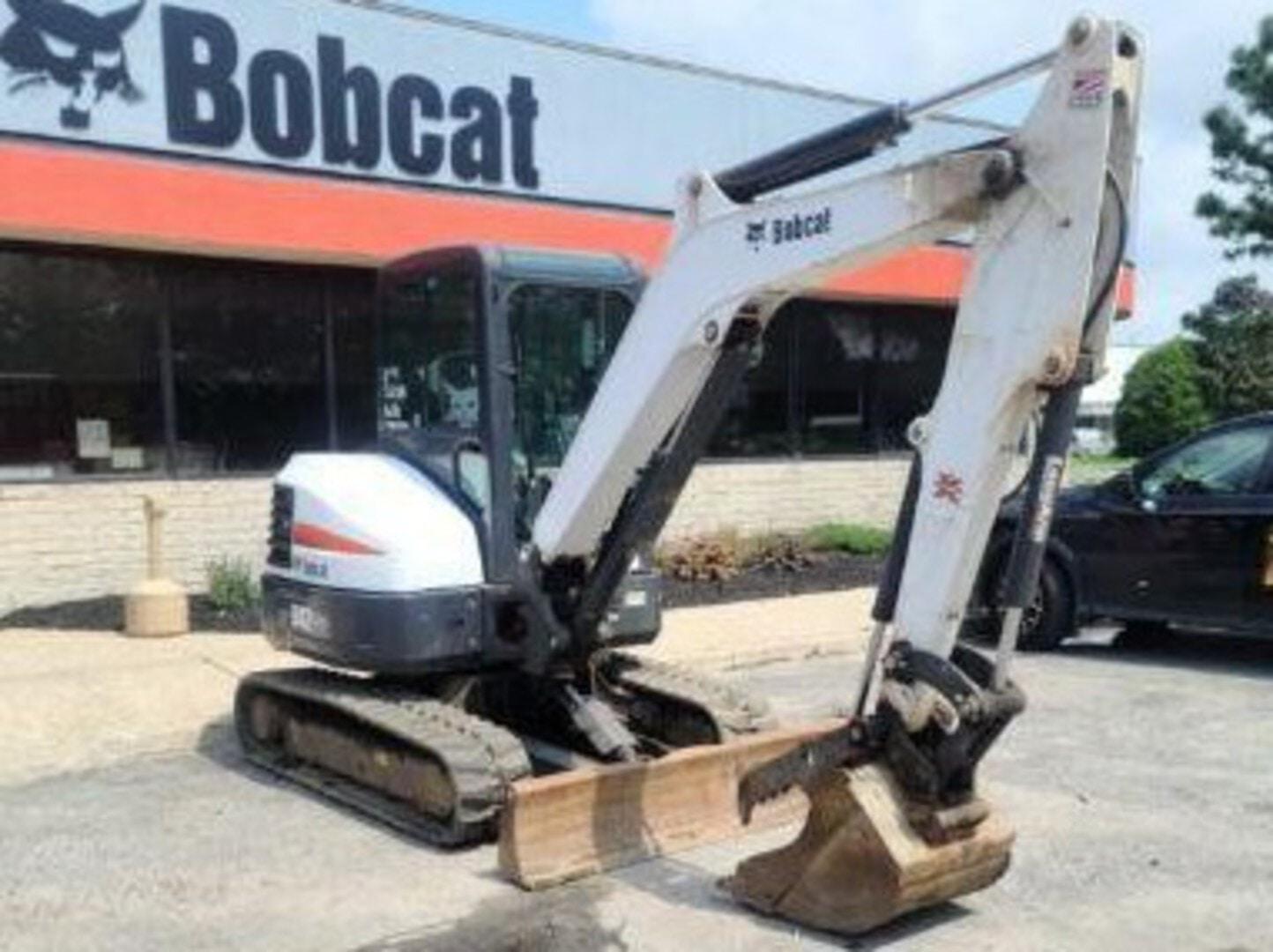 Used, 2016, Bobcat, E42 T4 Long Arm, Excavators