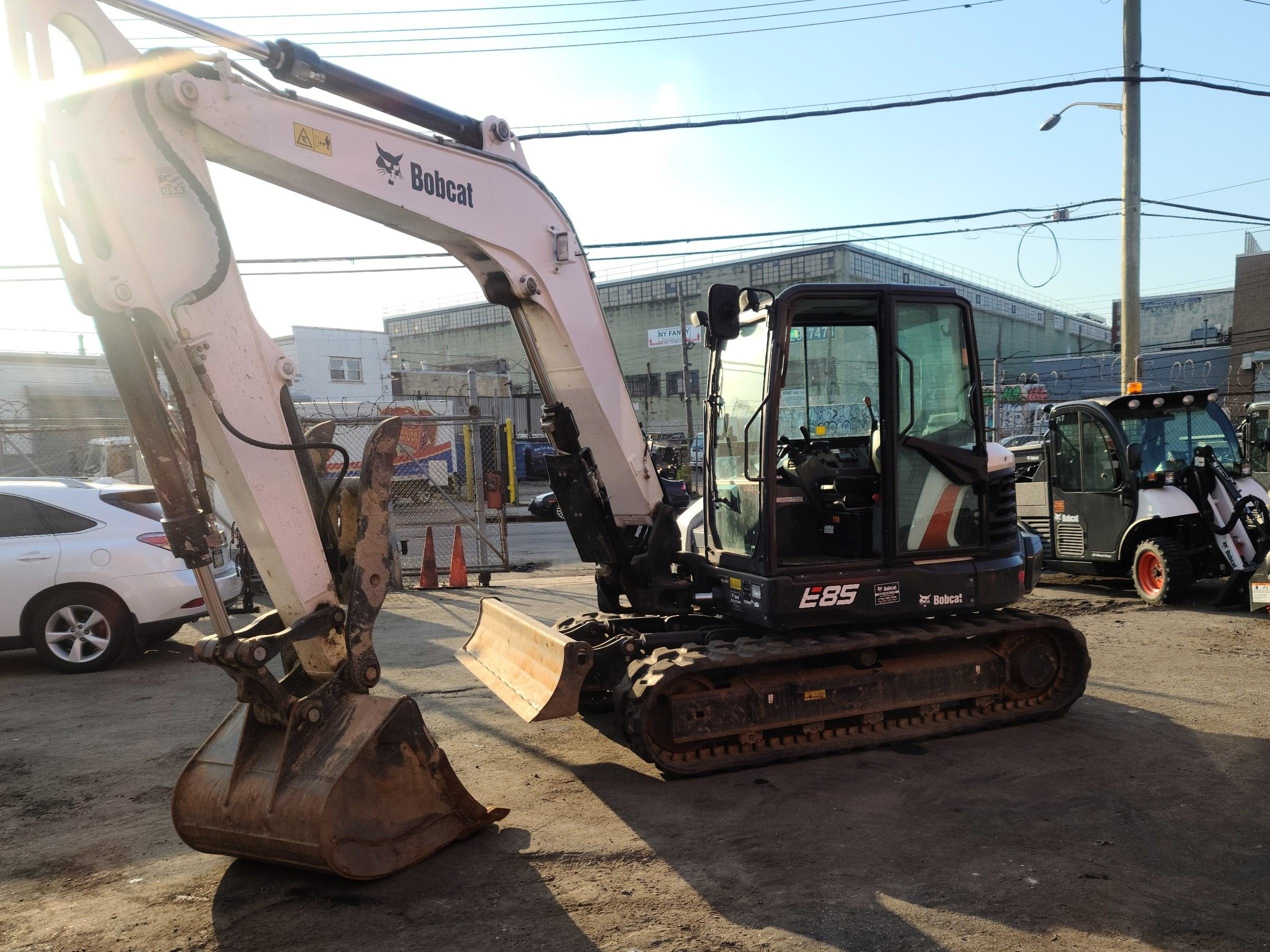 Used, 2019, Bobcat, E85, Excavators