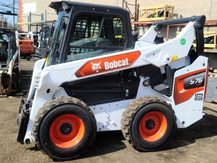 Used, 2020, Bobcat, S76, Loaders