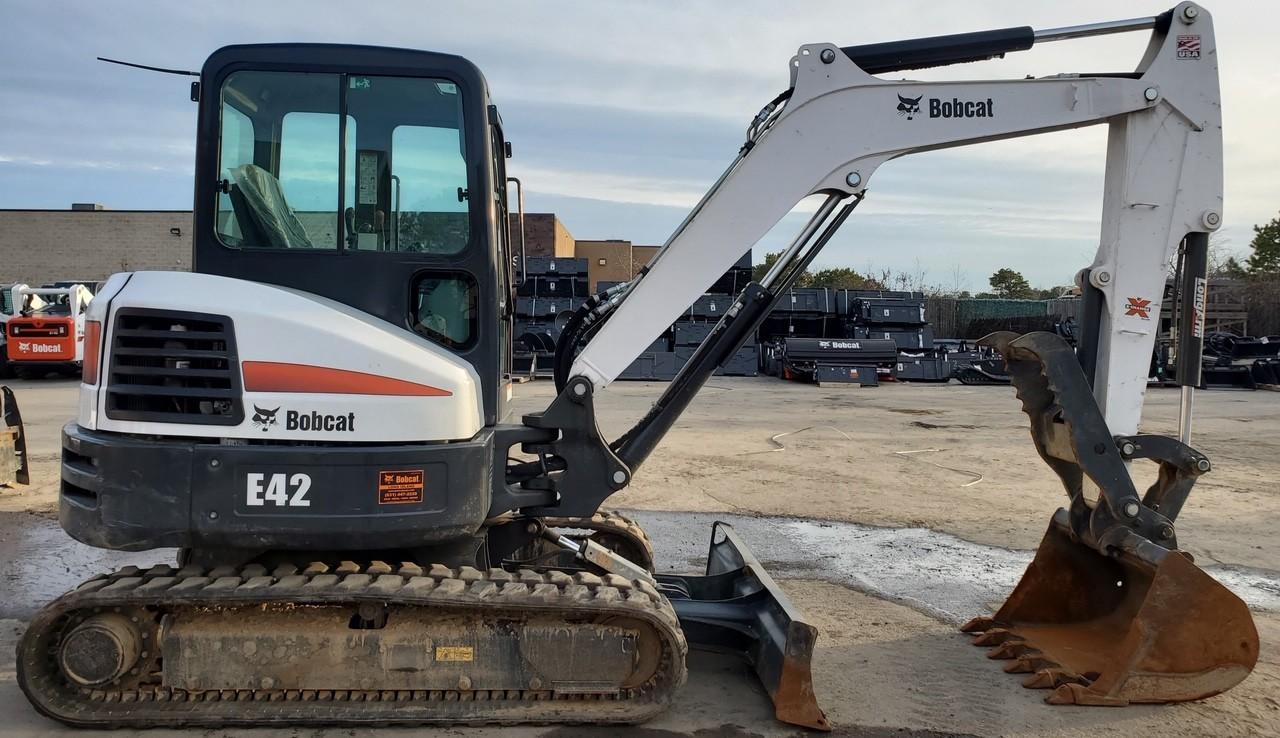 Used, 2019, Bobcat, E42, Excavators