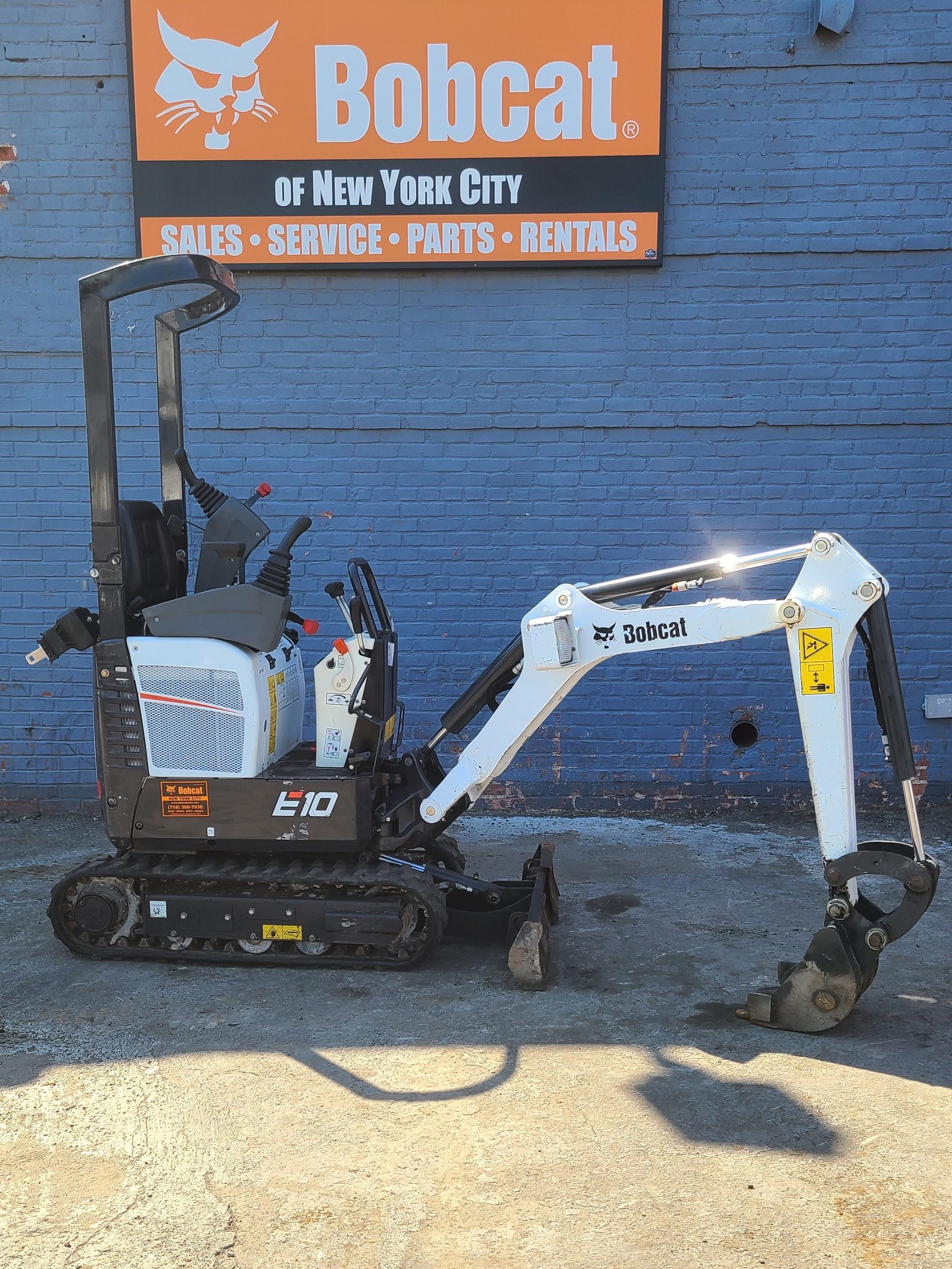 Used, 2019, Bobcat, E10, Excavators