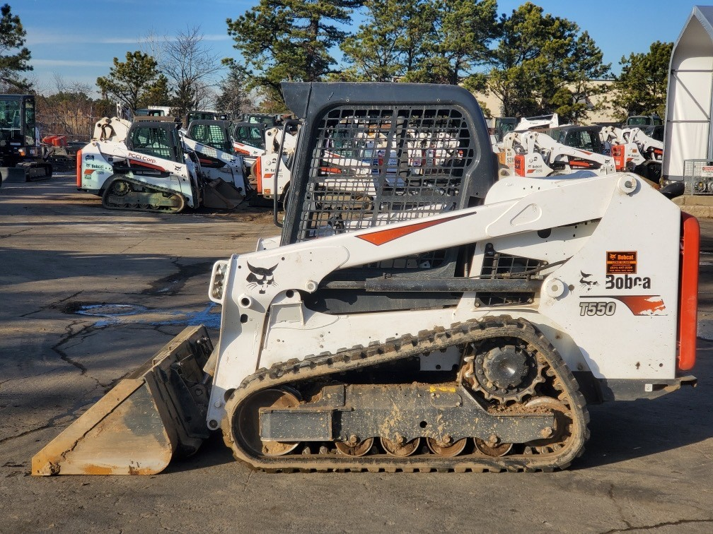 Used, 2020, Bobcat, T550, Loaders