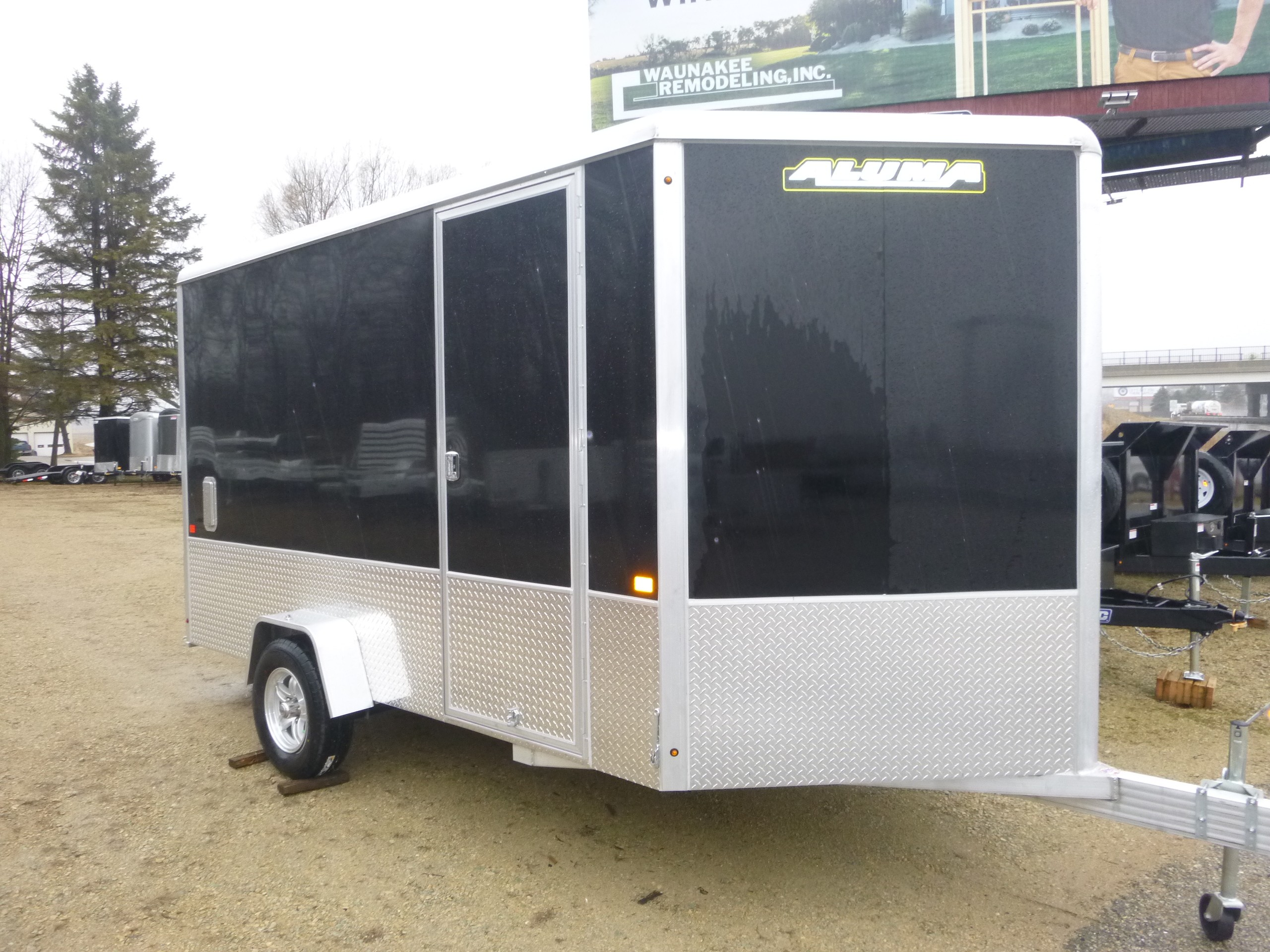 New, 2021, Aluma, AE7x12, Trailers