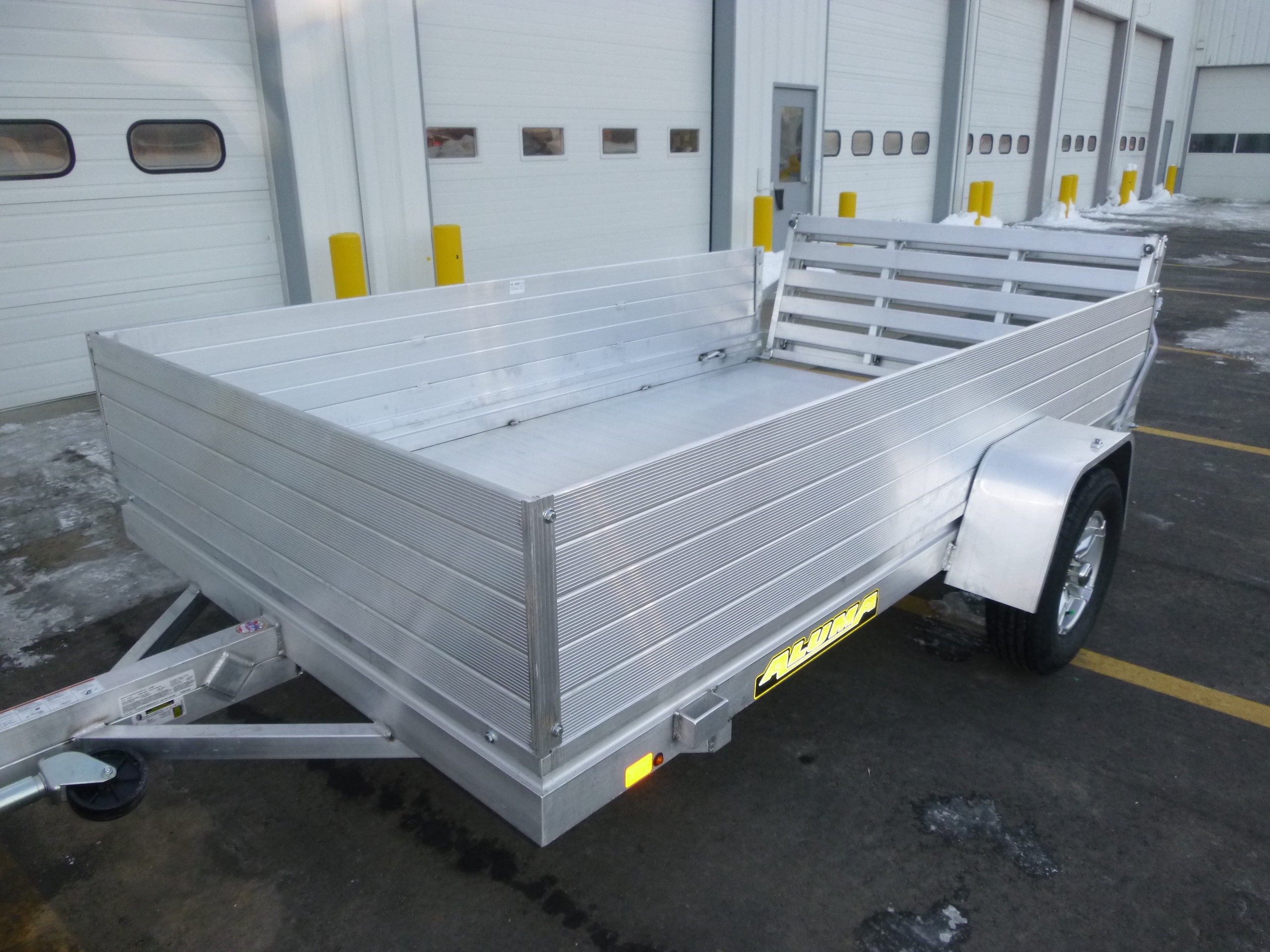 New, 2022, Aluma, 7210H-BT, Utility Trailers