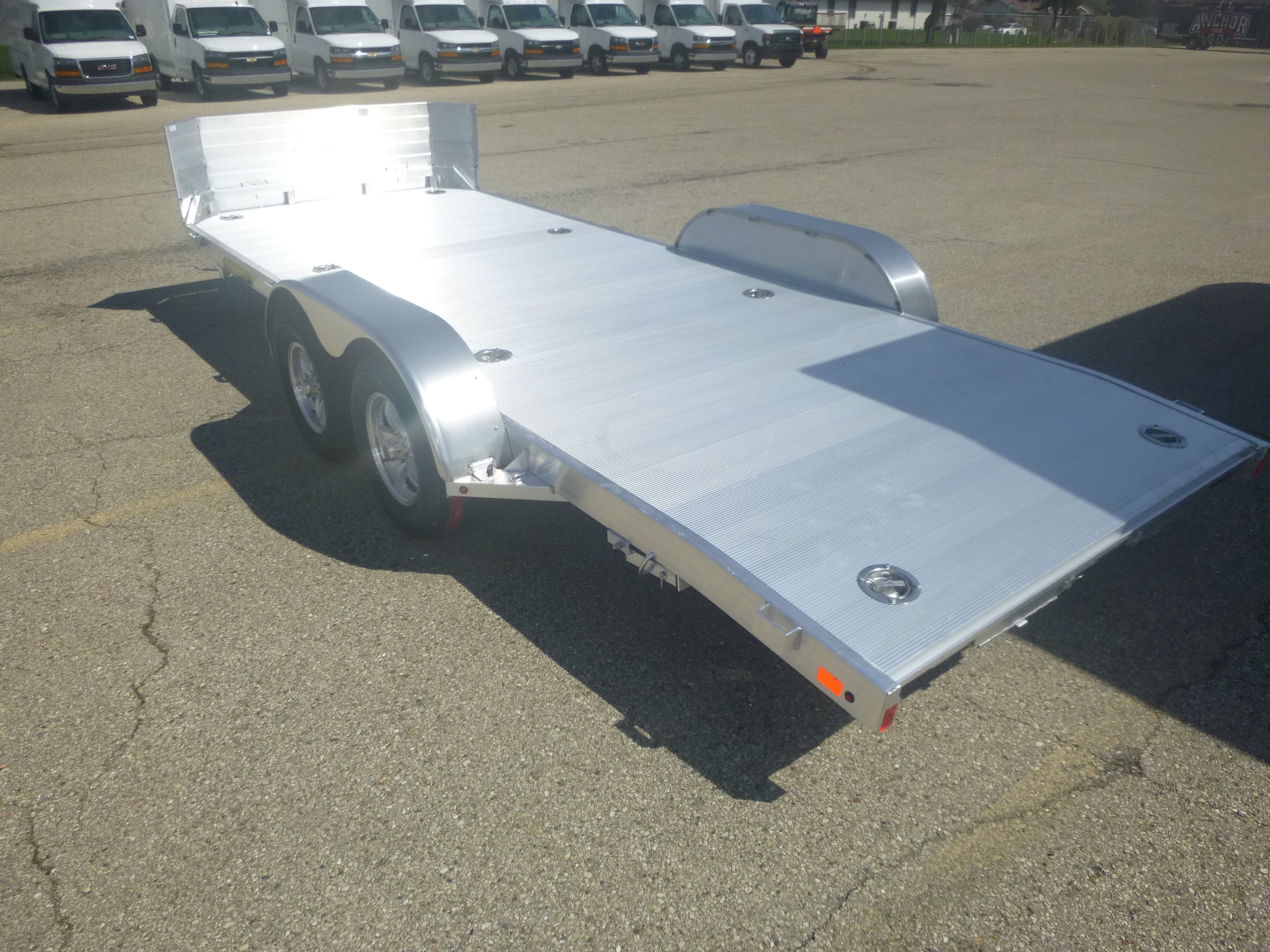 New, 2021, Aluma, 8218TA, Utility/Light-Duty Trailers